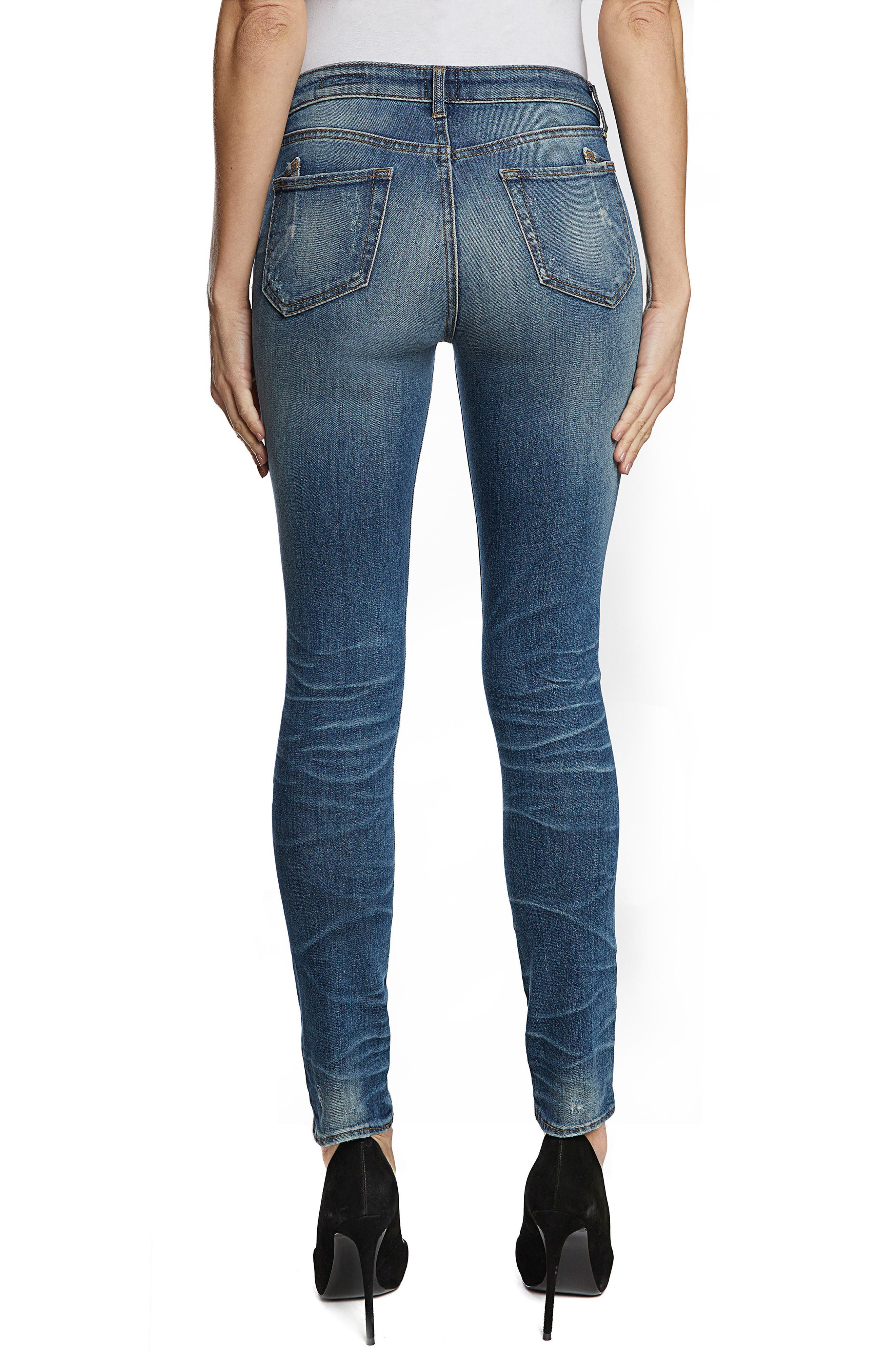 Camaro Ankle Skinny Jeans,                             Alternate thumbnail 2, color,                             490