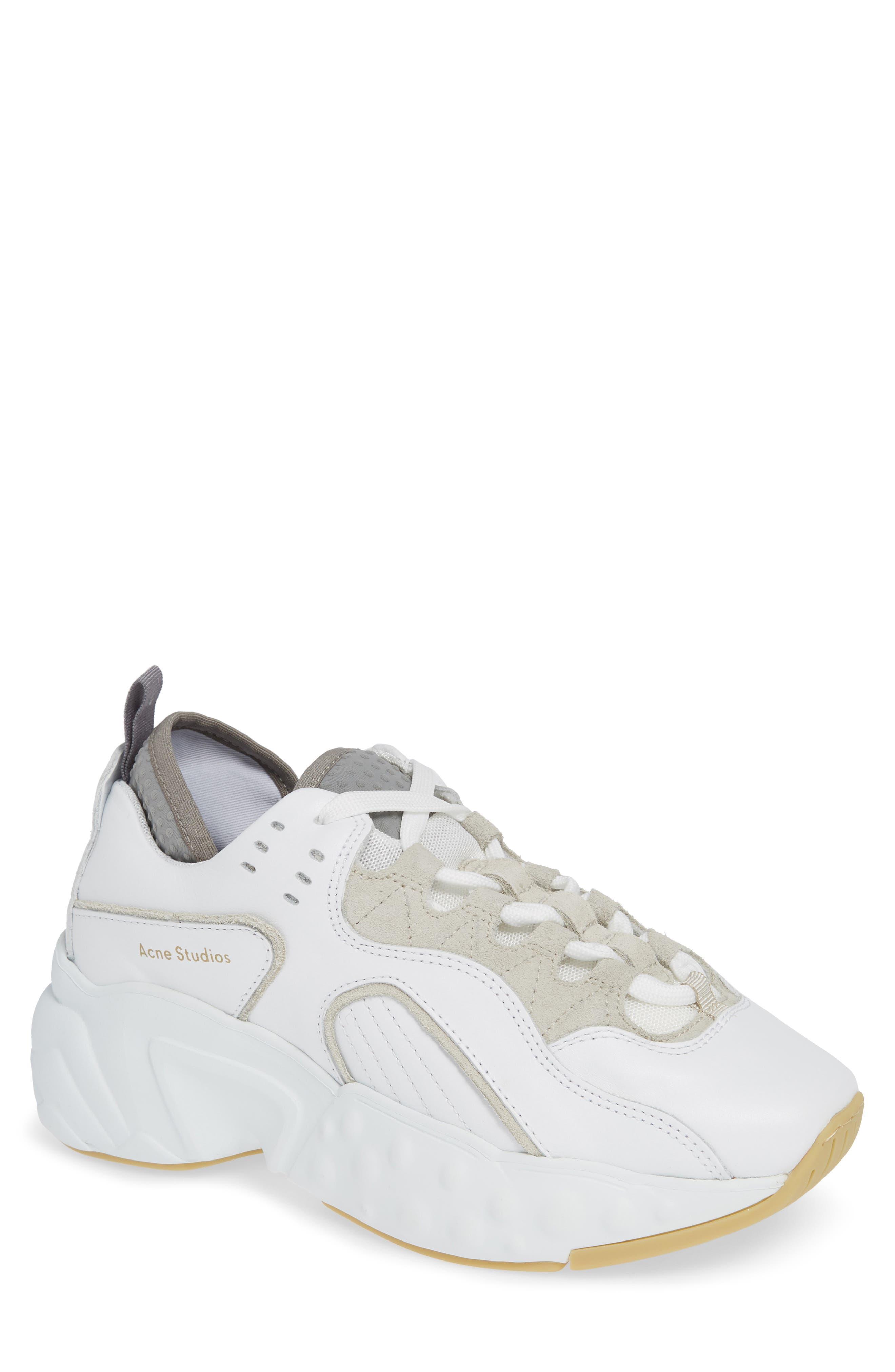 Manhattan Sneaker,                             Main thumbnail 1, color,                             WHITE/WHITE