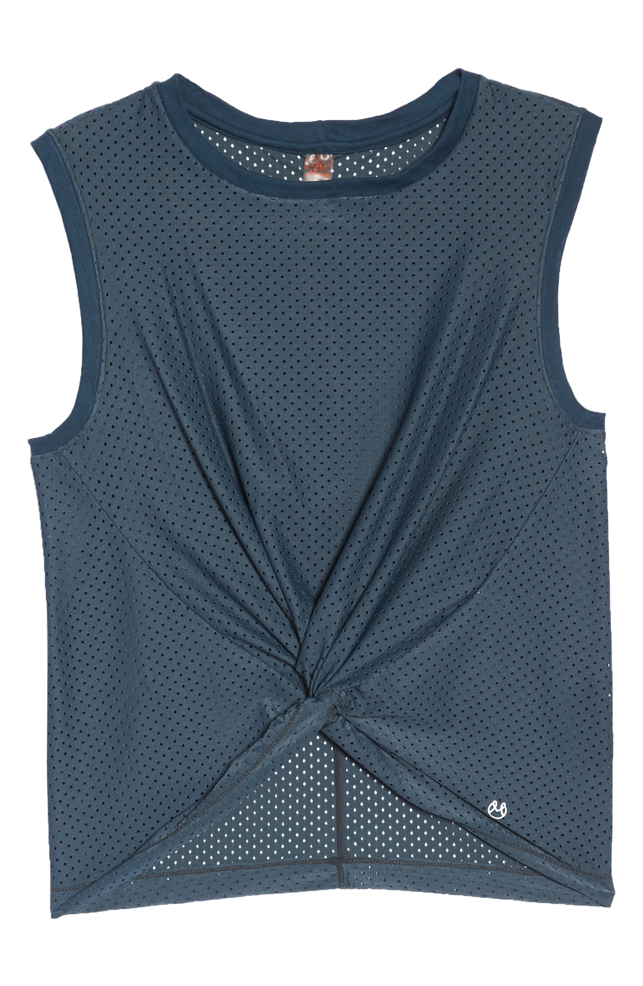 Eden Evergreen Mesh Tank,                             Alternate thumbnail 7, color,                             EVERGREEN