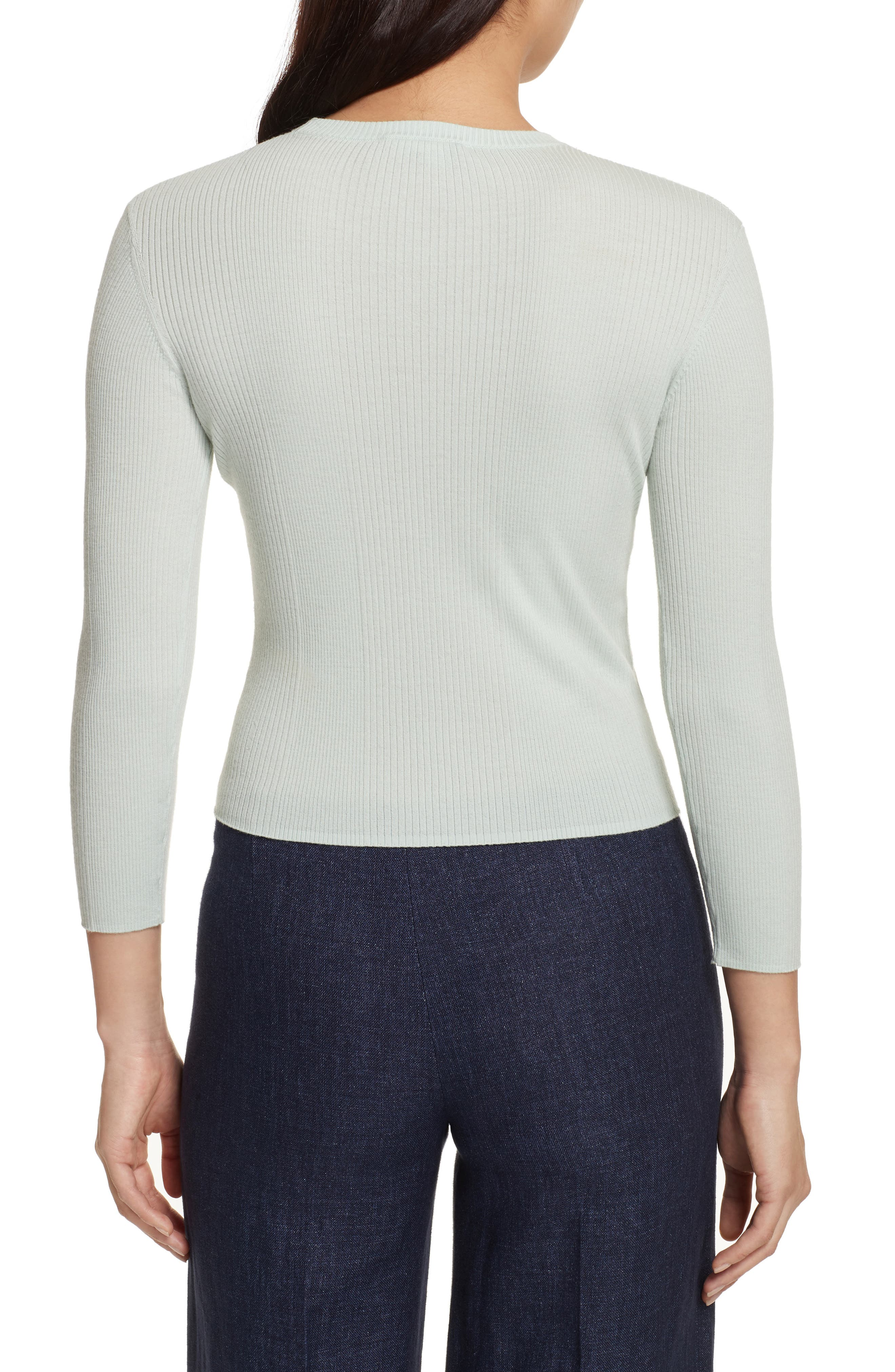 Merino Wool Blend Sweater,                             Alternate thumbnail 5, color,