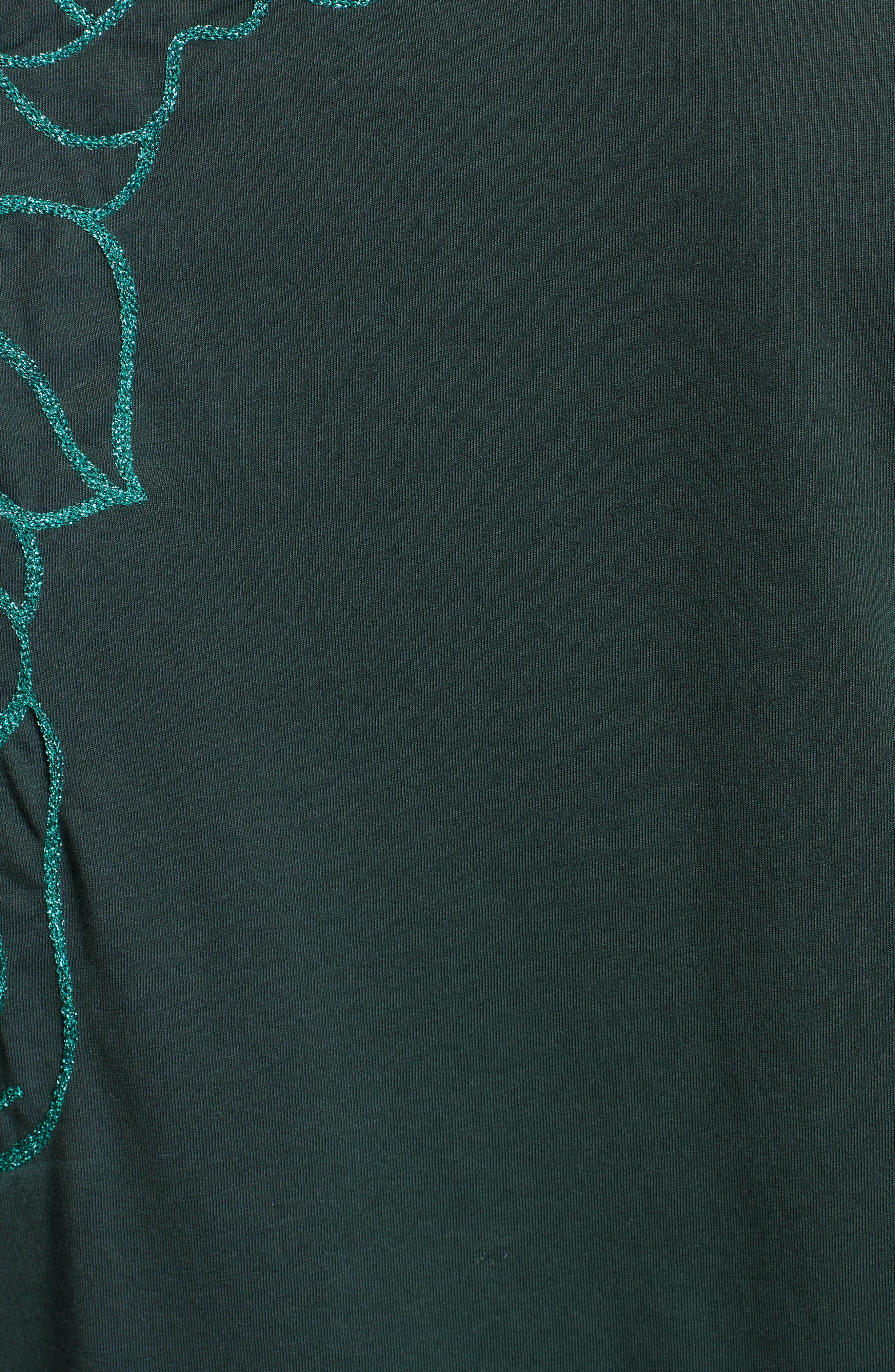 Medusa Foil Back T-Shirt,                             Alternate thumbnail 5, color,                             300
