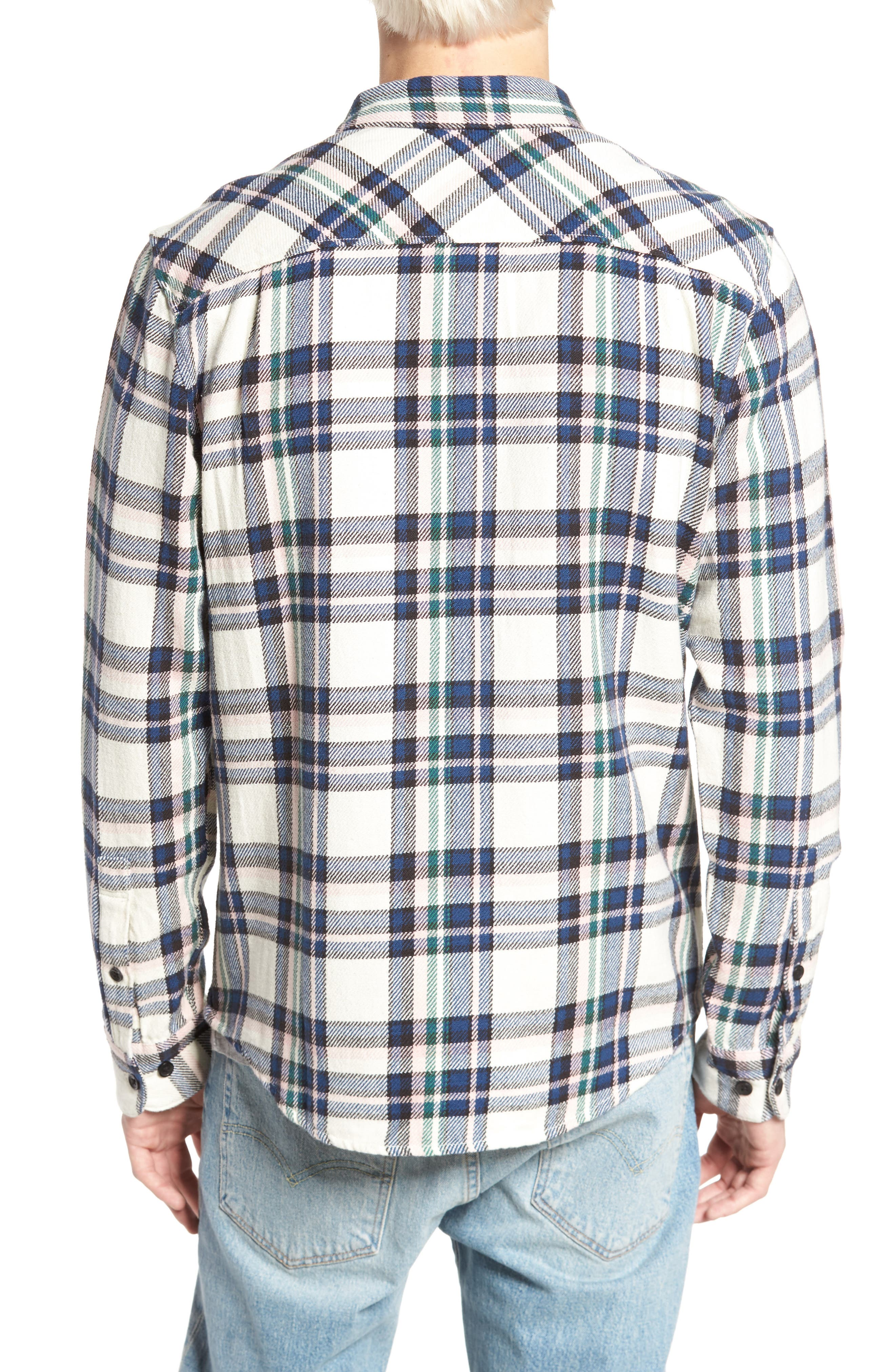 Camino Flannel Shirt,                             Alternate thumbnail 5, color,