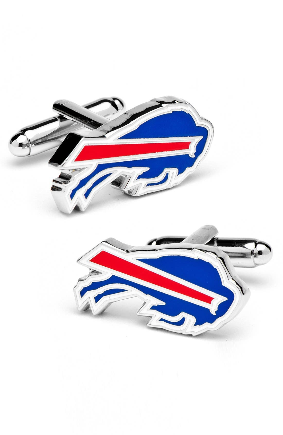 'Buffalo Bills' Cuff Links,                             Main thumbnail 1, color,                             040