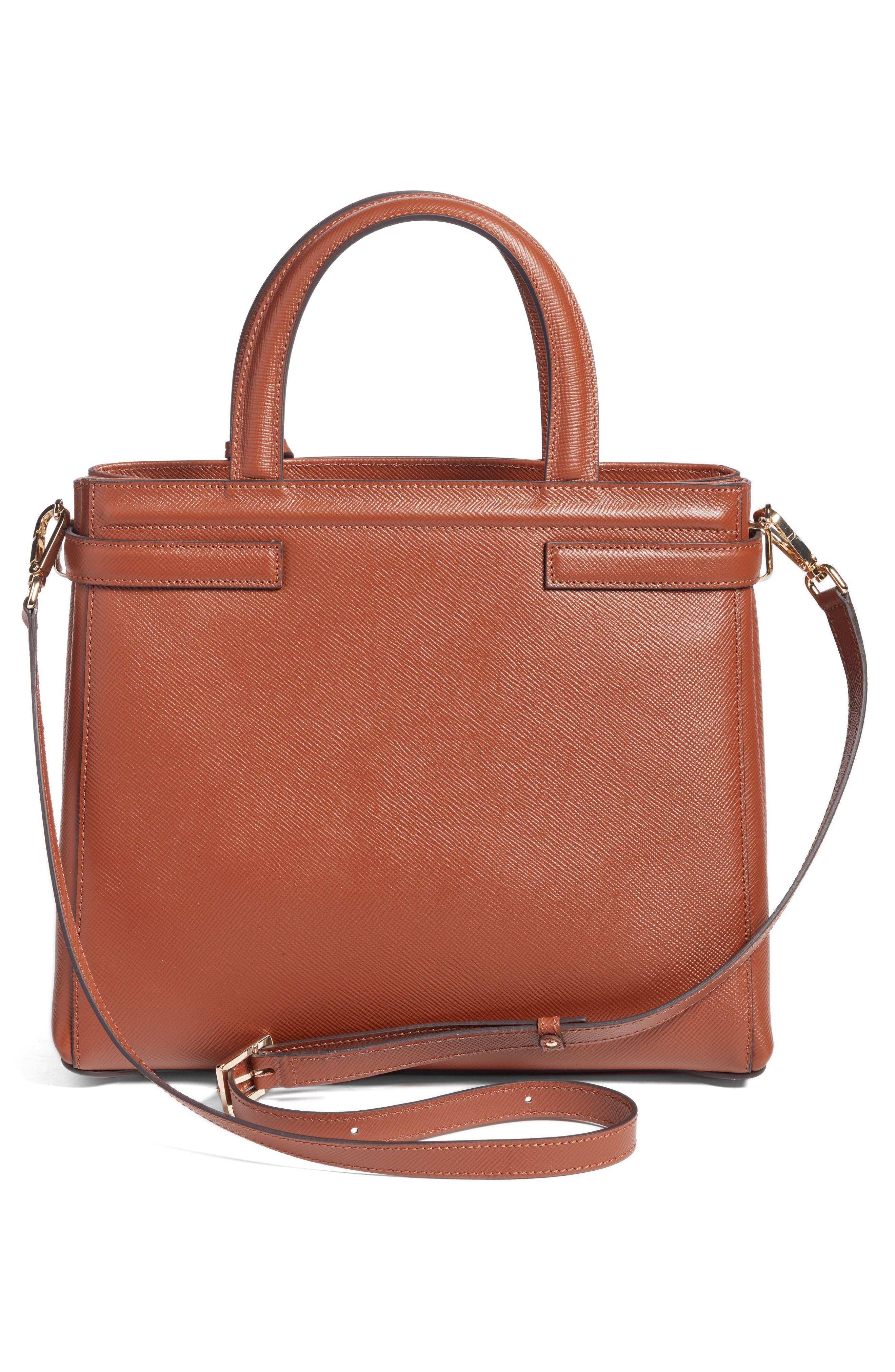 Small Meline Evolution Leather Bag,                             Alternate thumbnail 11, color,