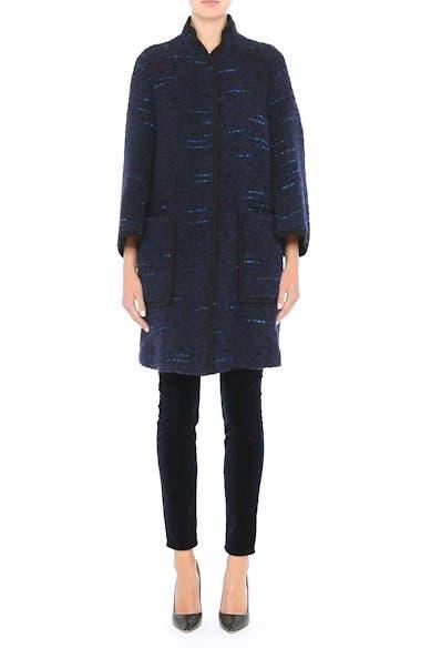 Wool Blend Swing Coat, video thumbnail