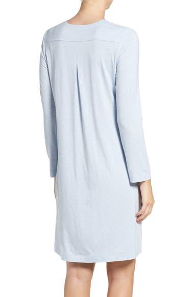 c8ee6ca267 Hanro Long Sleeve Knit Nightgown