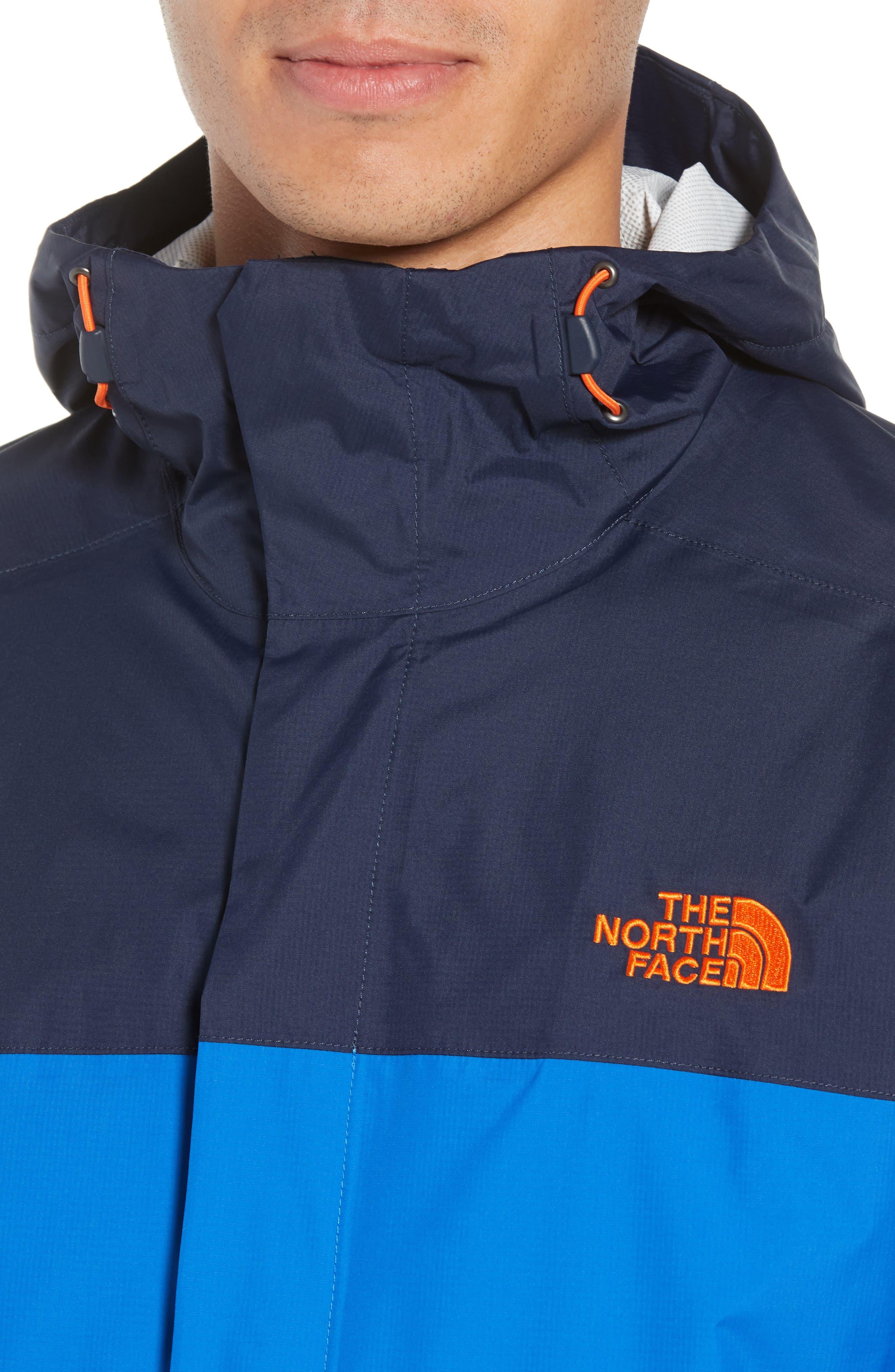 Venture II Raincoat,                             Alternate thumbnail 4, color,                             TURKISH SEA/ NAVY/ ORANGE