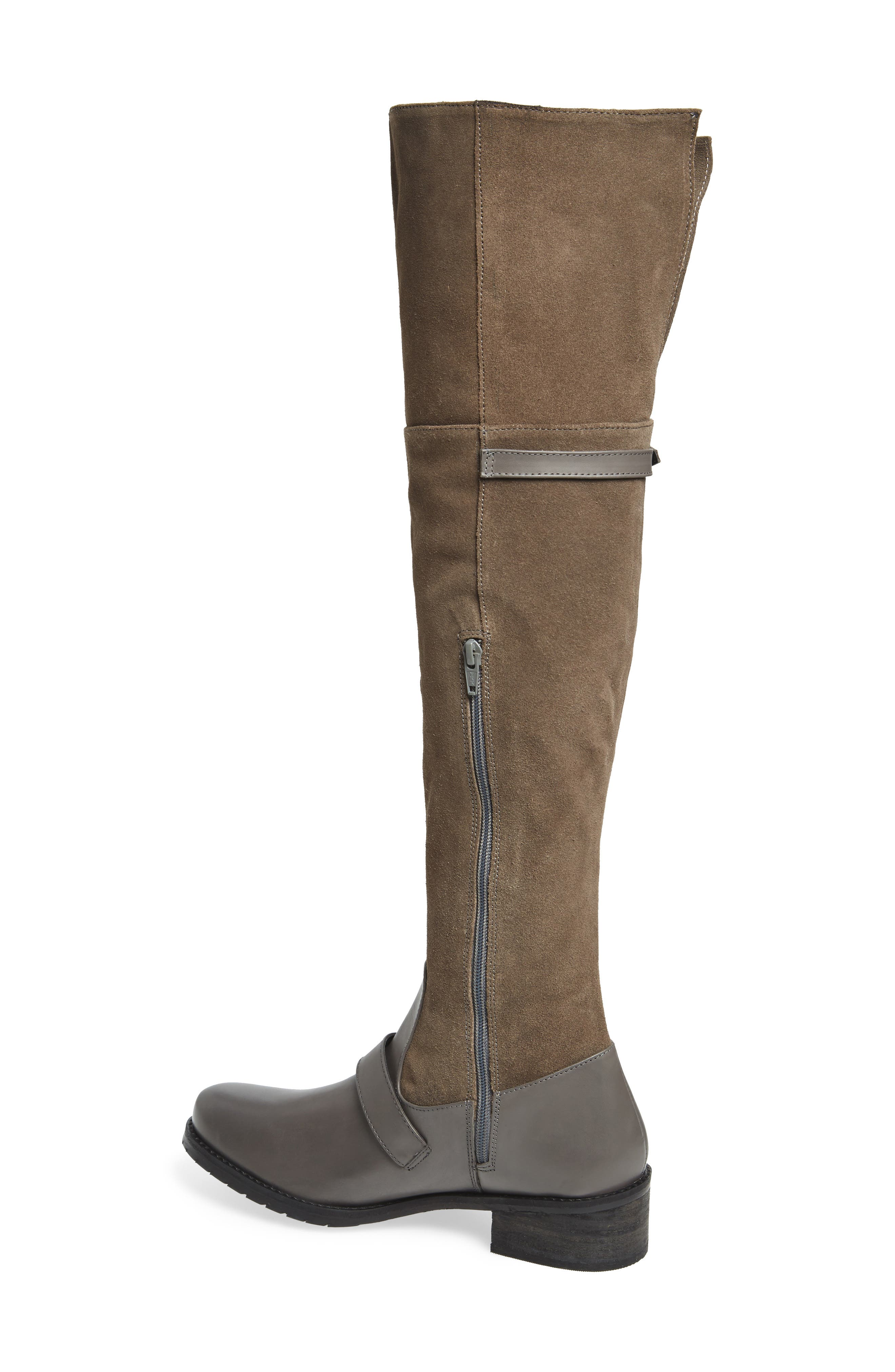 Lola Over the Knee Boot,                             Alternate thumbnail 6, color,