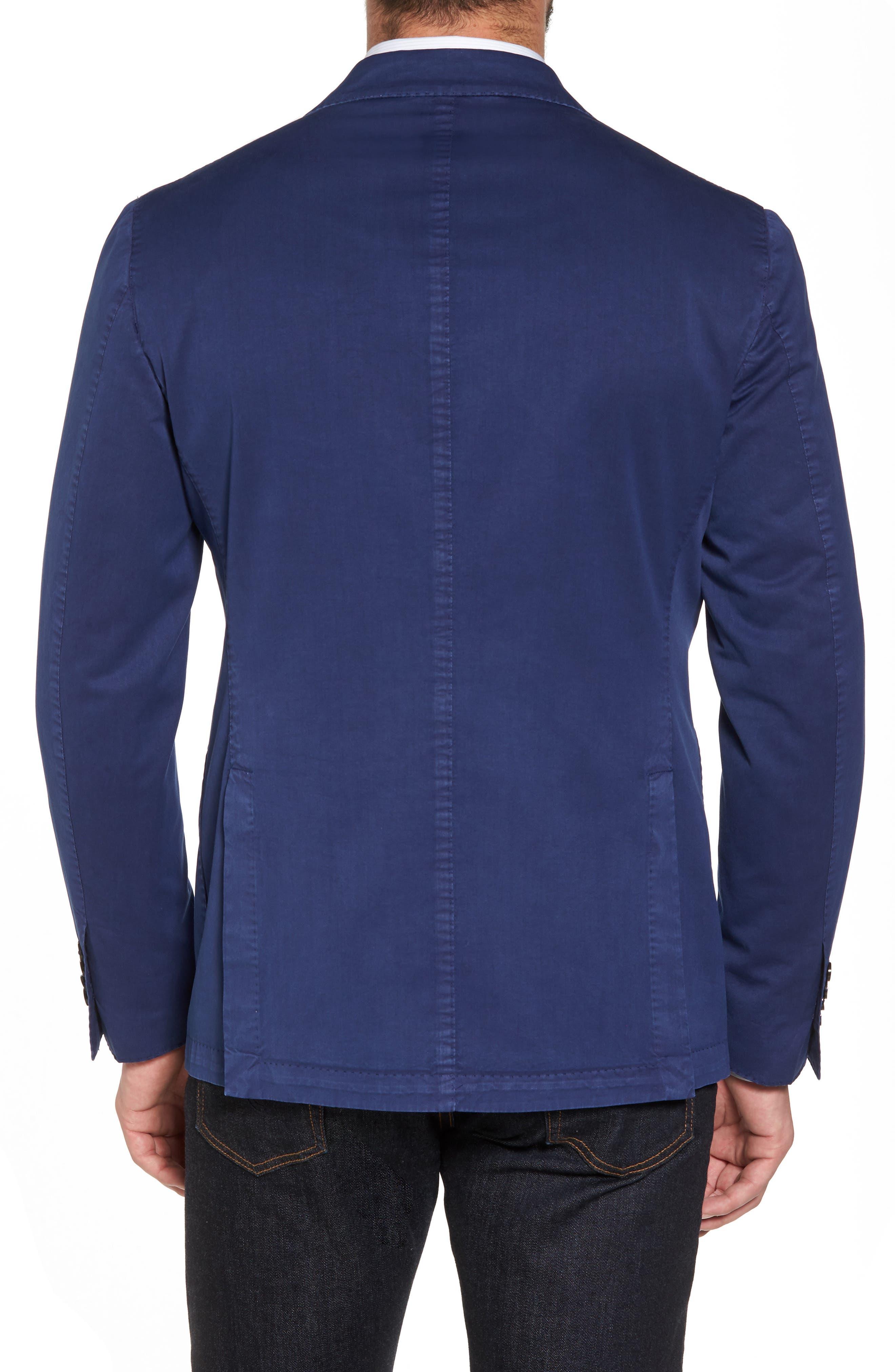 Classic Fit Cotton & Silk Blazer,                             Alternate thumbnail 2, color,                             410