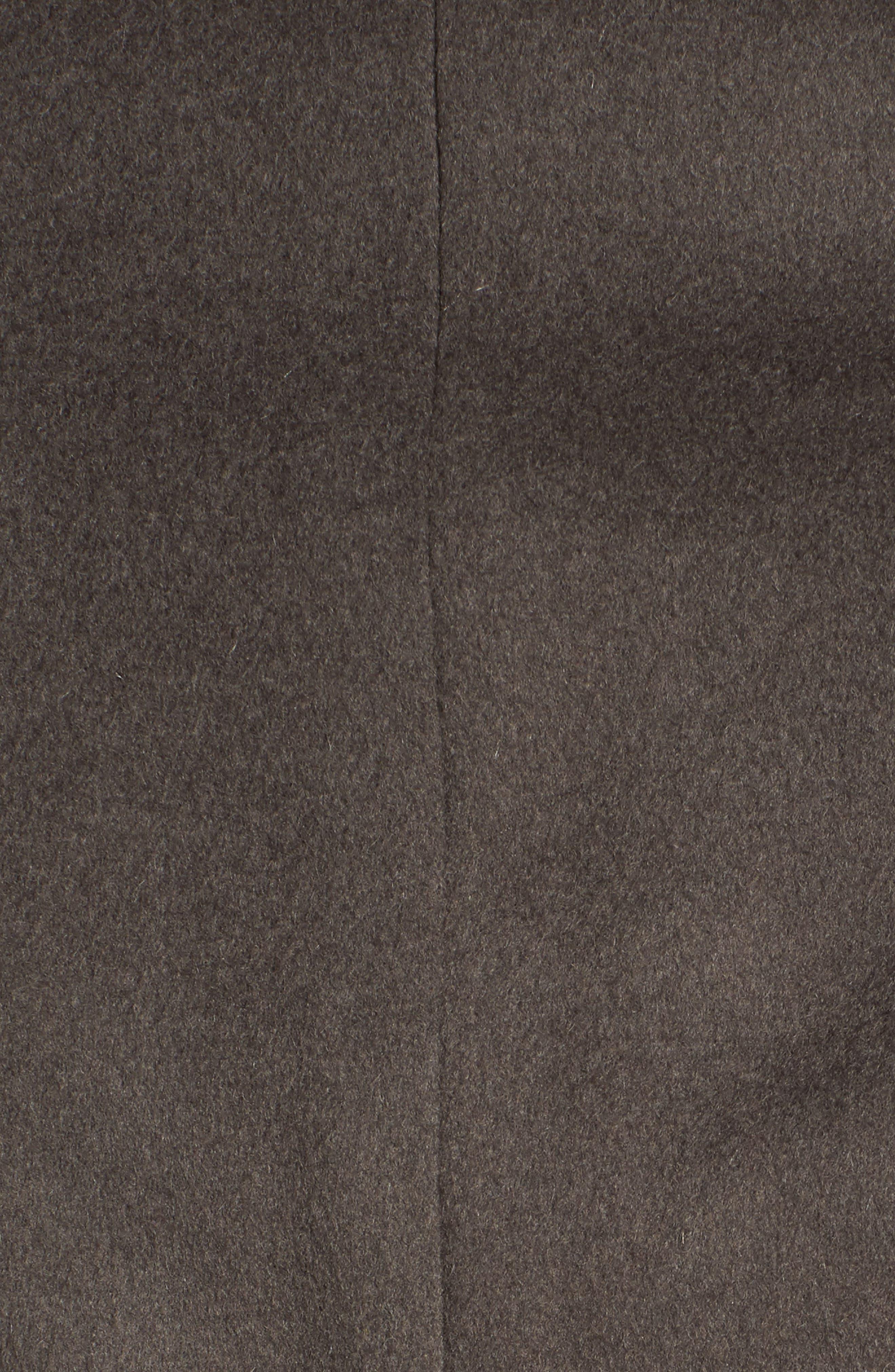T Tahari Wool Blend Belted Wrap Coat,                             Alternate thumbnail 48, color,