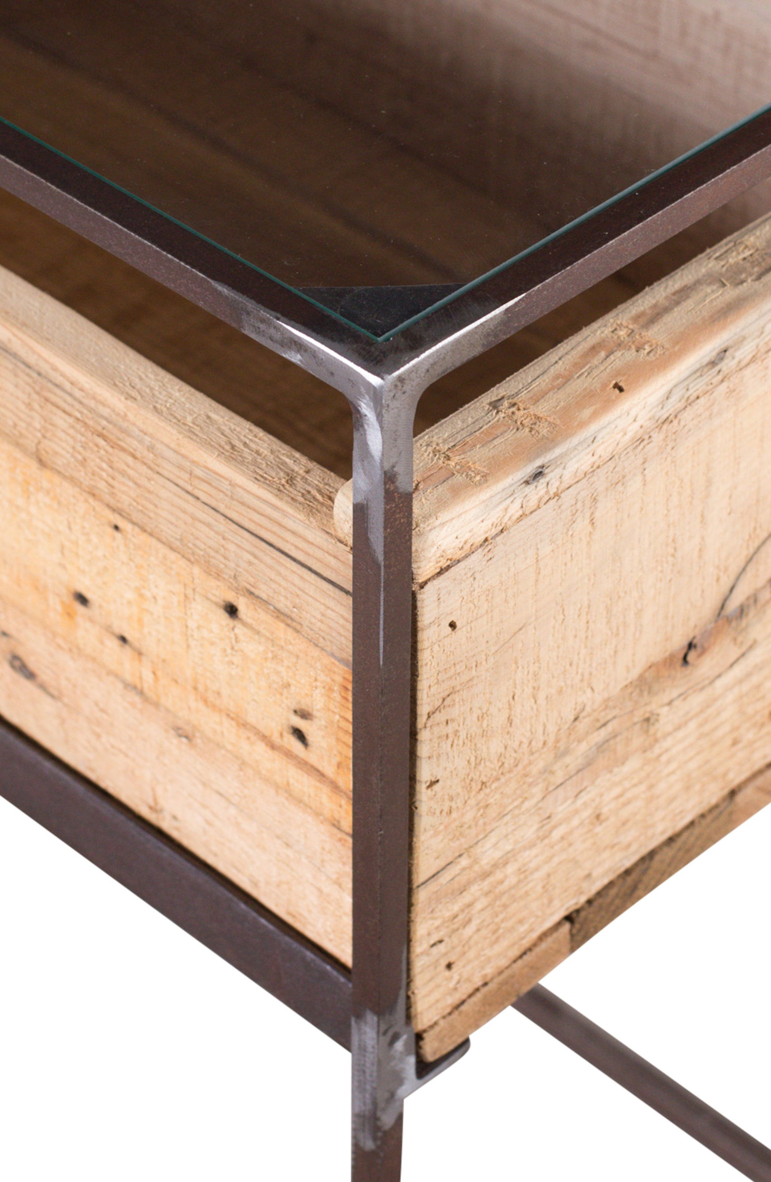 Landon Wood Box Side Table,                             Alternate thumbnail 2, color,                             NATURAL