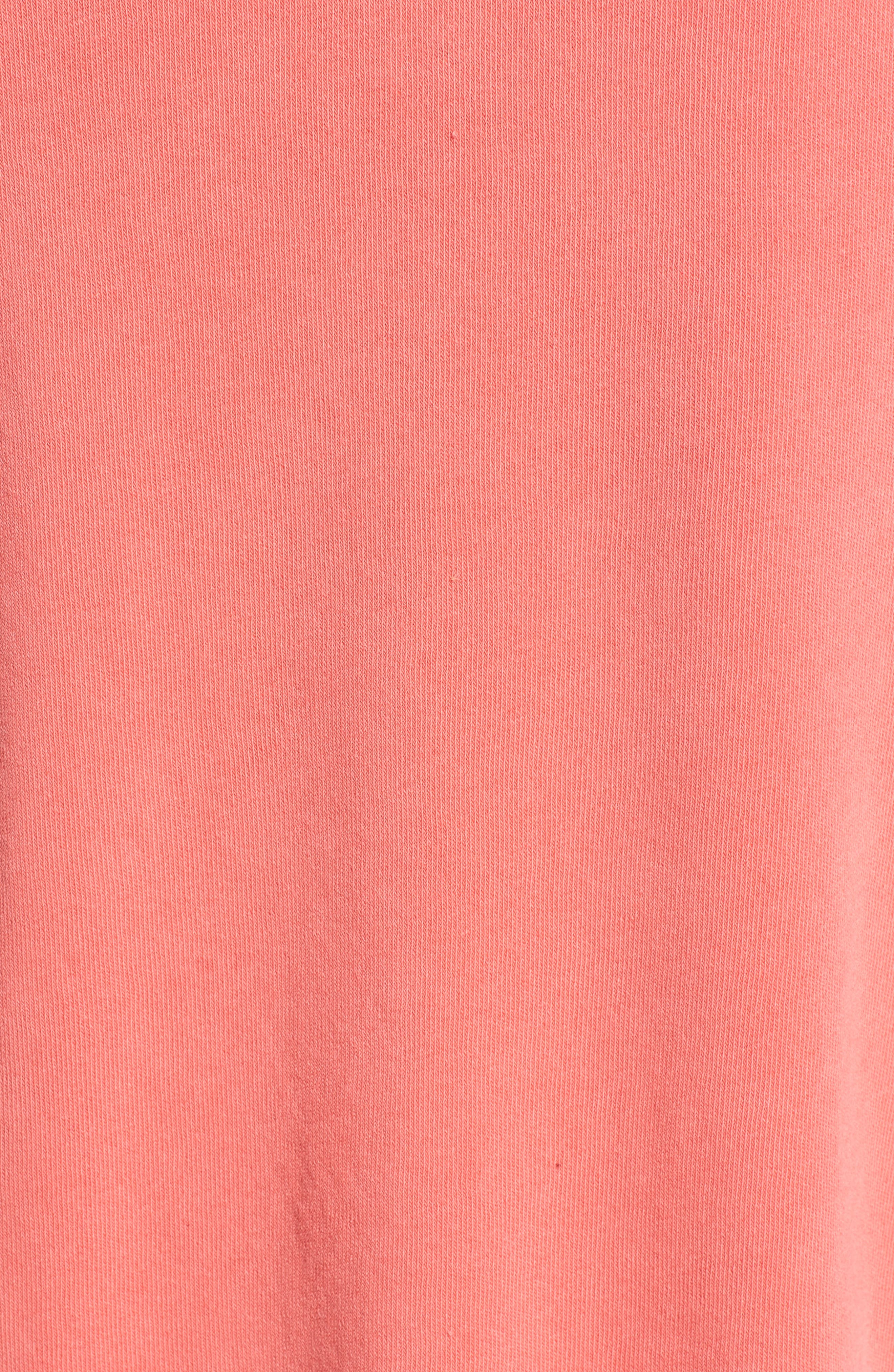 Love Me Tender Sommers Sweatshirt,                             Alternate thumbnail 5, color,                             PIGMENT HOT LIPSTICK