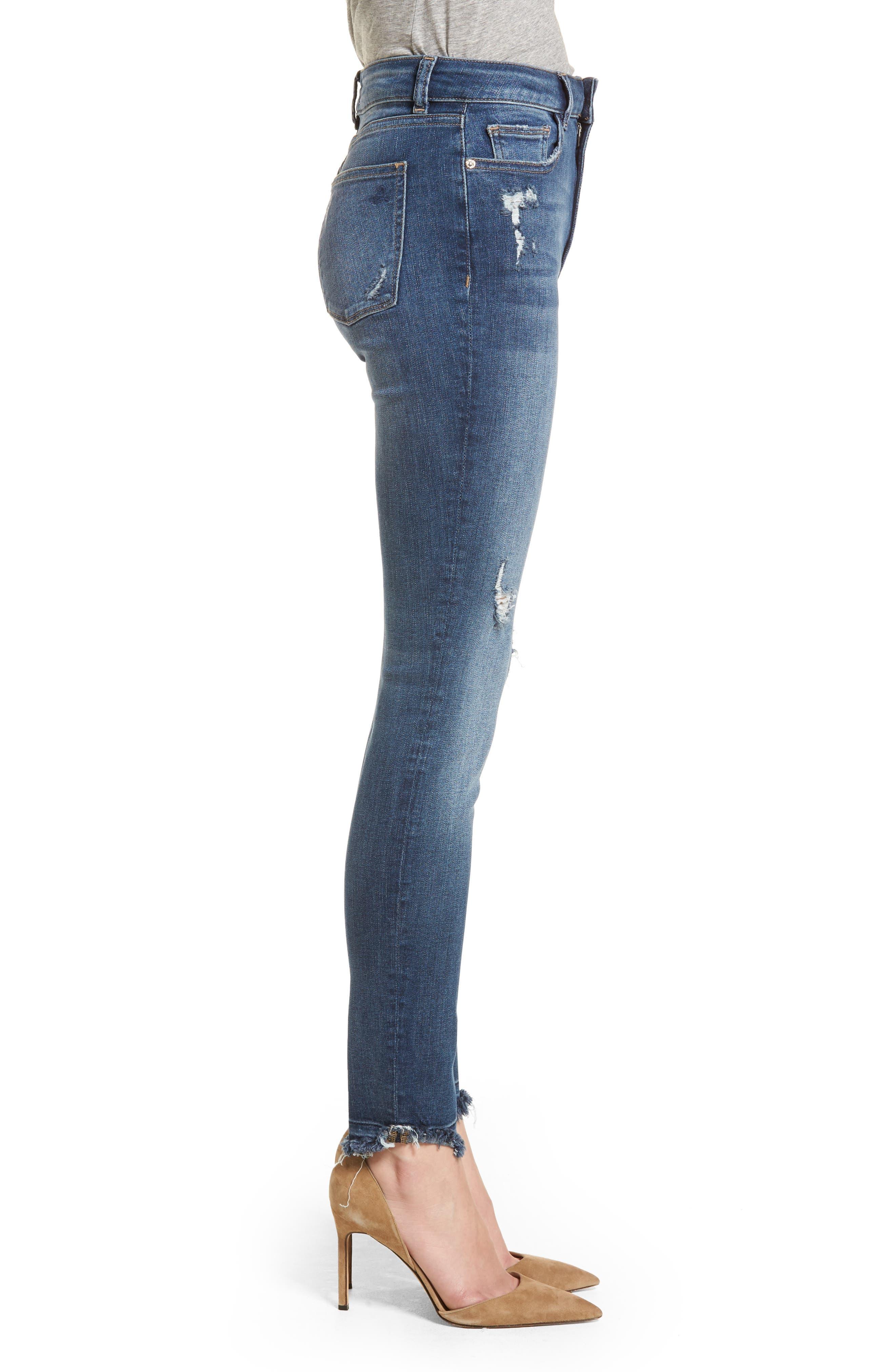 Farrow Instaslim High Waist Skinny Jeans,                             Alternate thumbnail 3, color,                             426