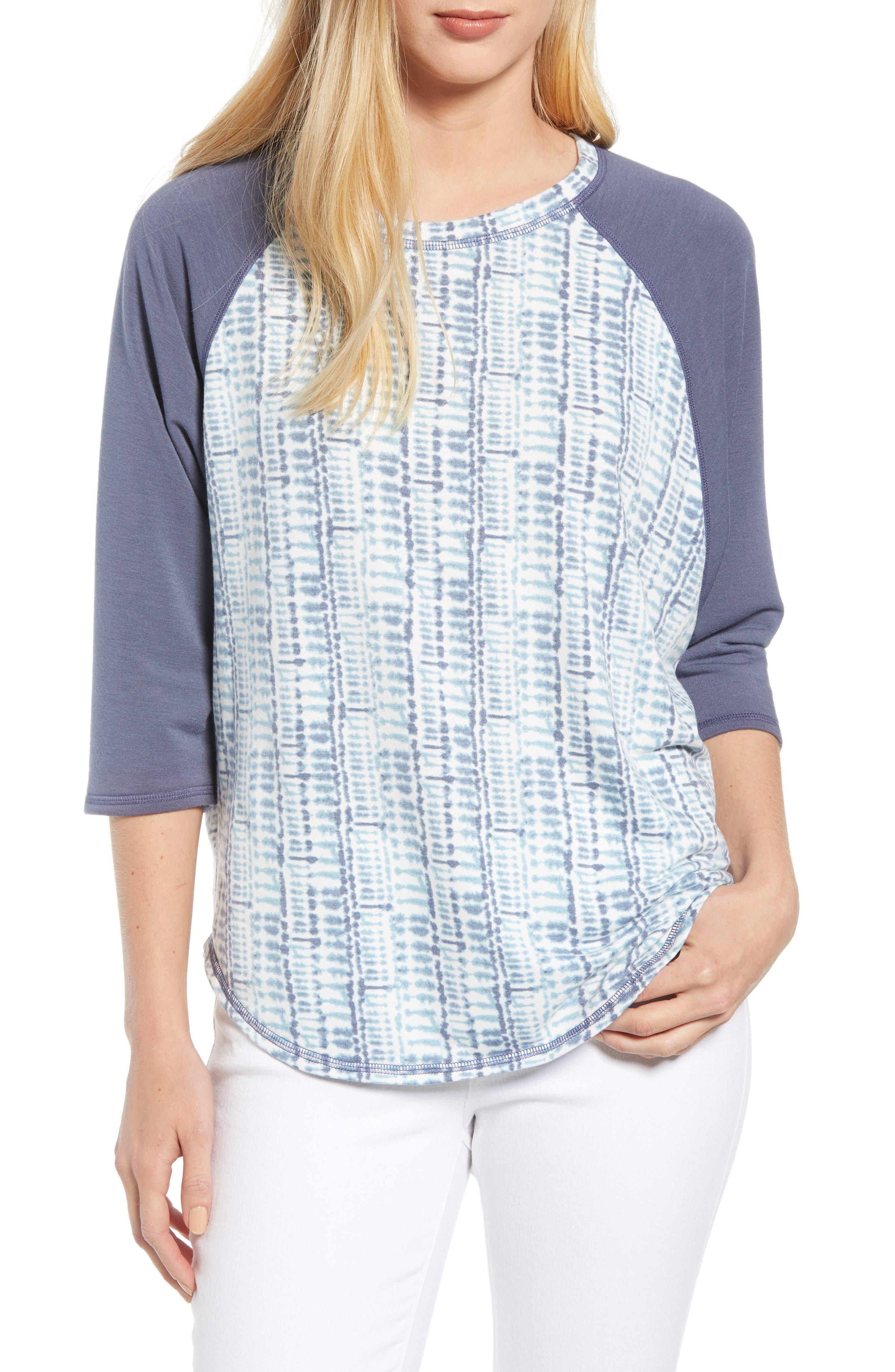 CASLON<SUP>®</SUP> Off Duty Raglan Sleeve Sweatshirt, Main, color, 401