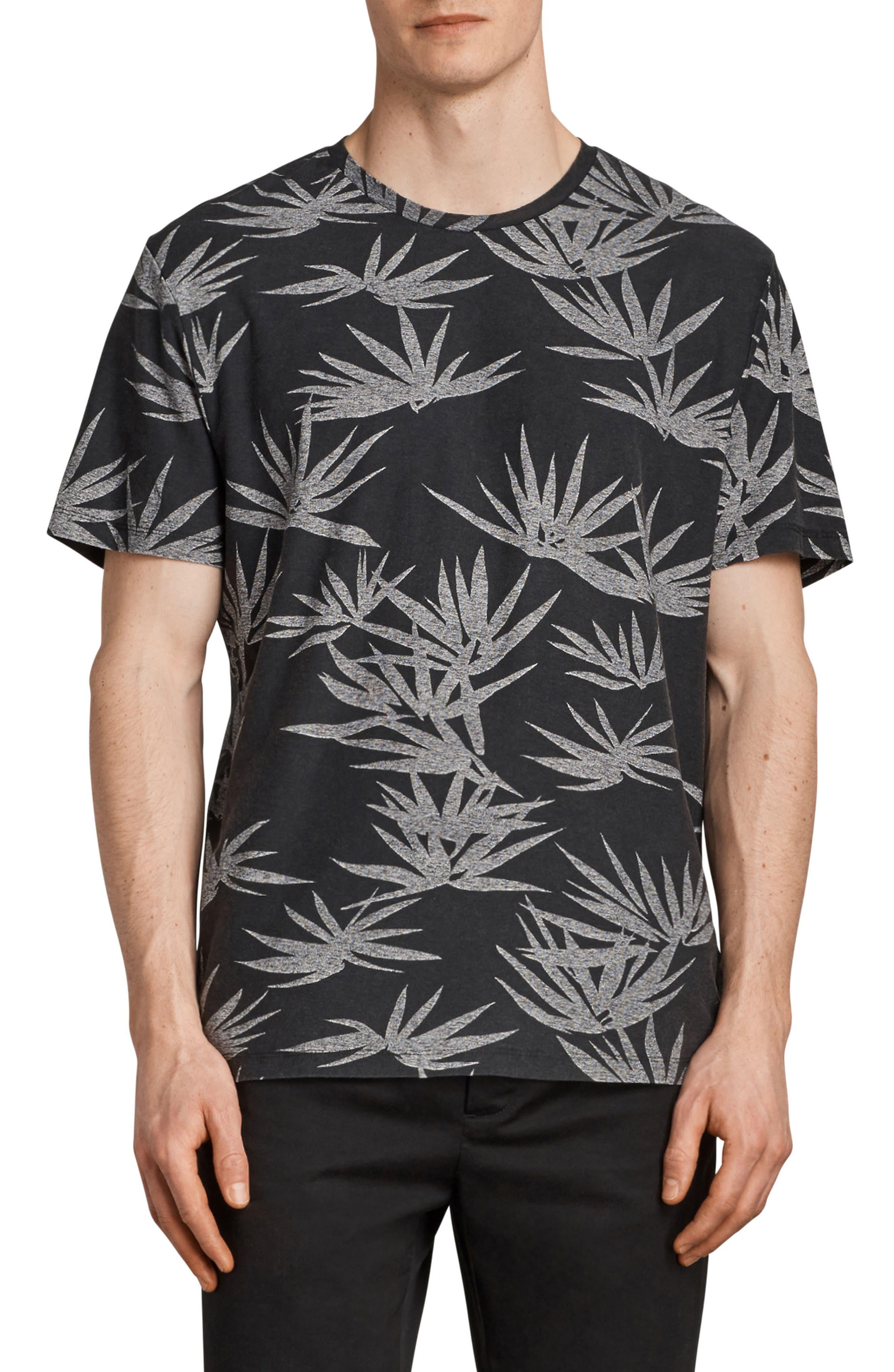 Bhutan Short Sleeve T-Shirt,                             Main thumbnail 1, color,                             BLACK