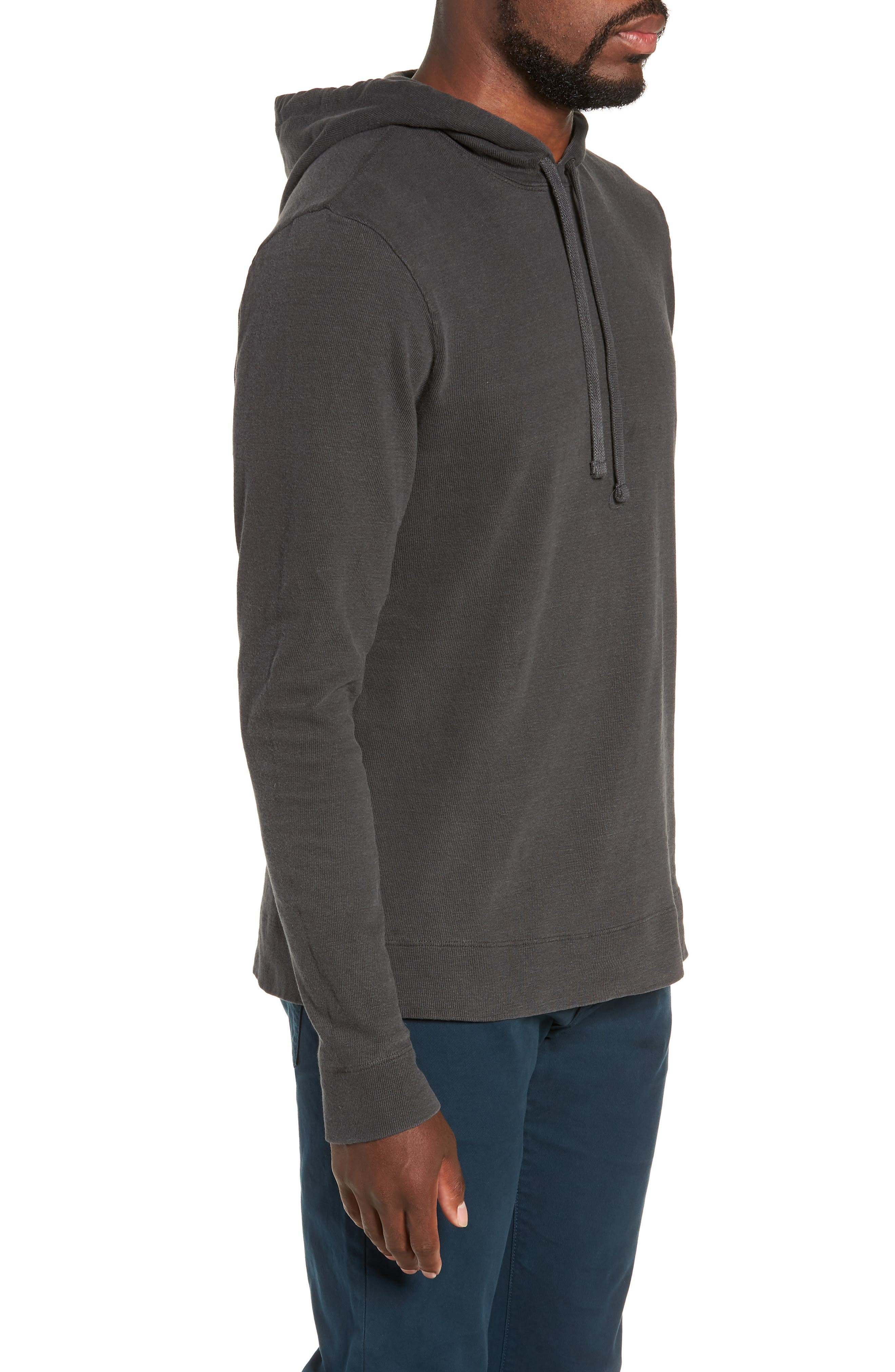 Standard Fit Pullover Hoodie,                             Alternate thumbnail 3, color,                             020