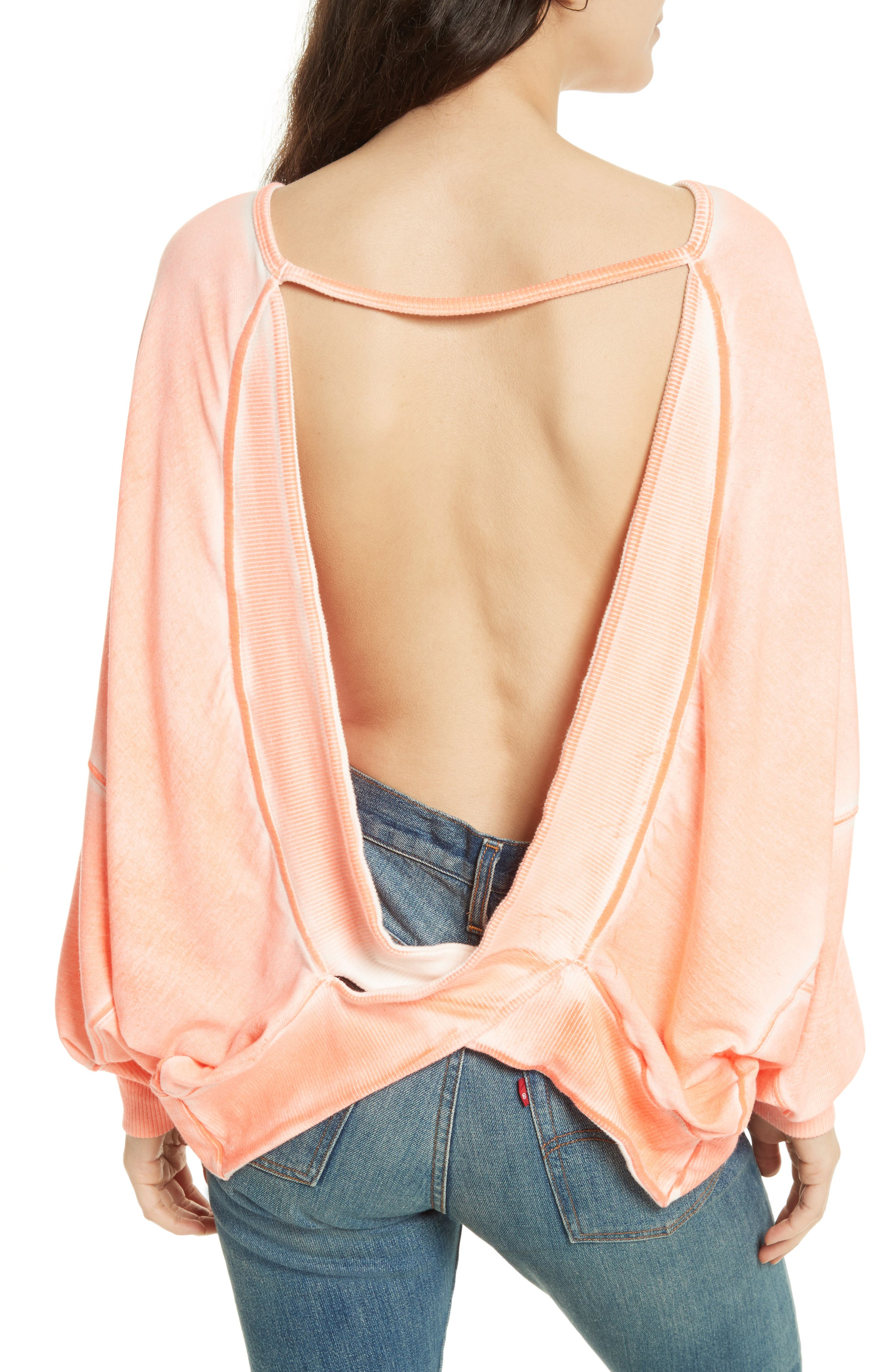 Back It Up Pullover,                             Alternate thumbnail 6, color,