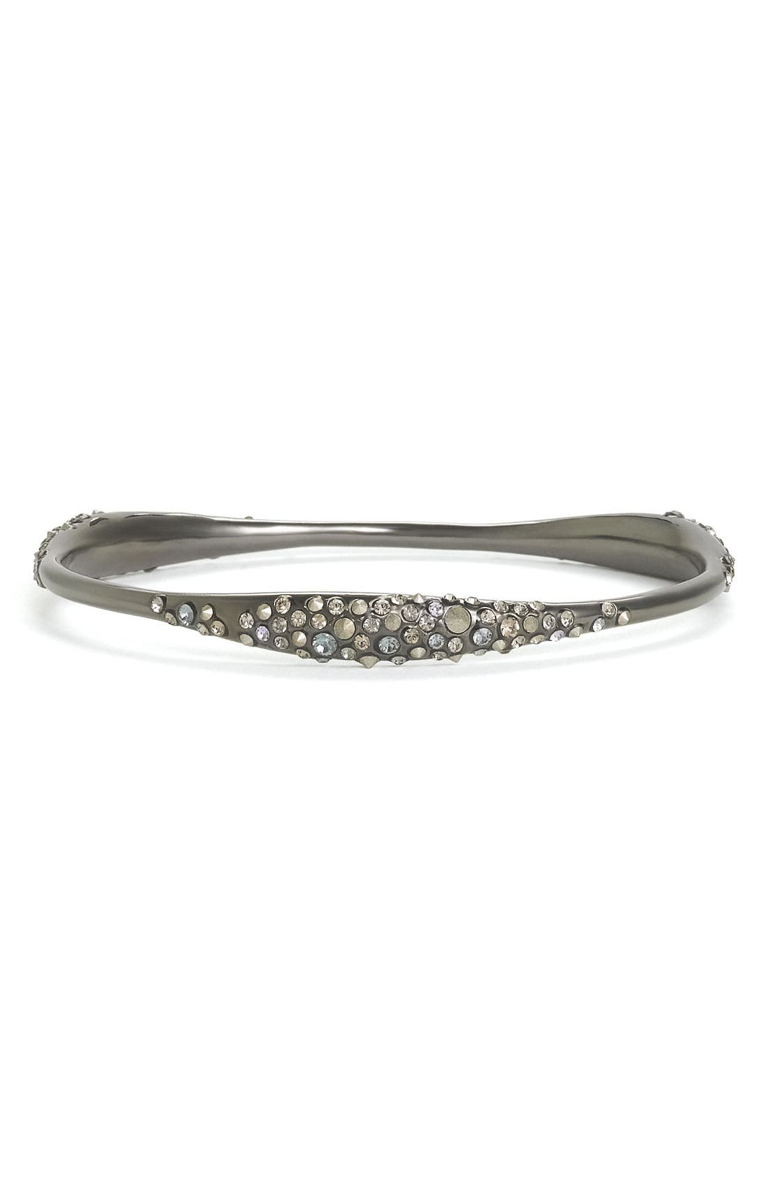 'Miss Havisham' Encrusted Skinny Bangle,                             Main thumbnail 1, color,