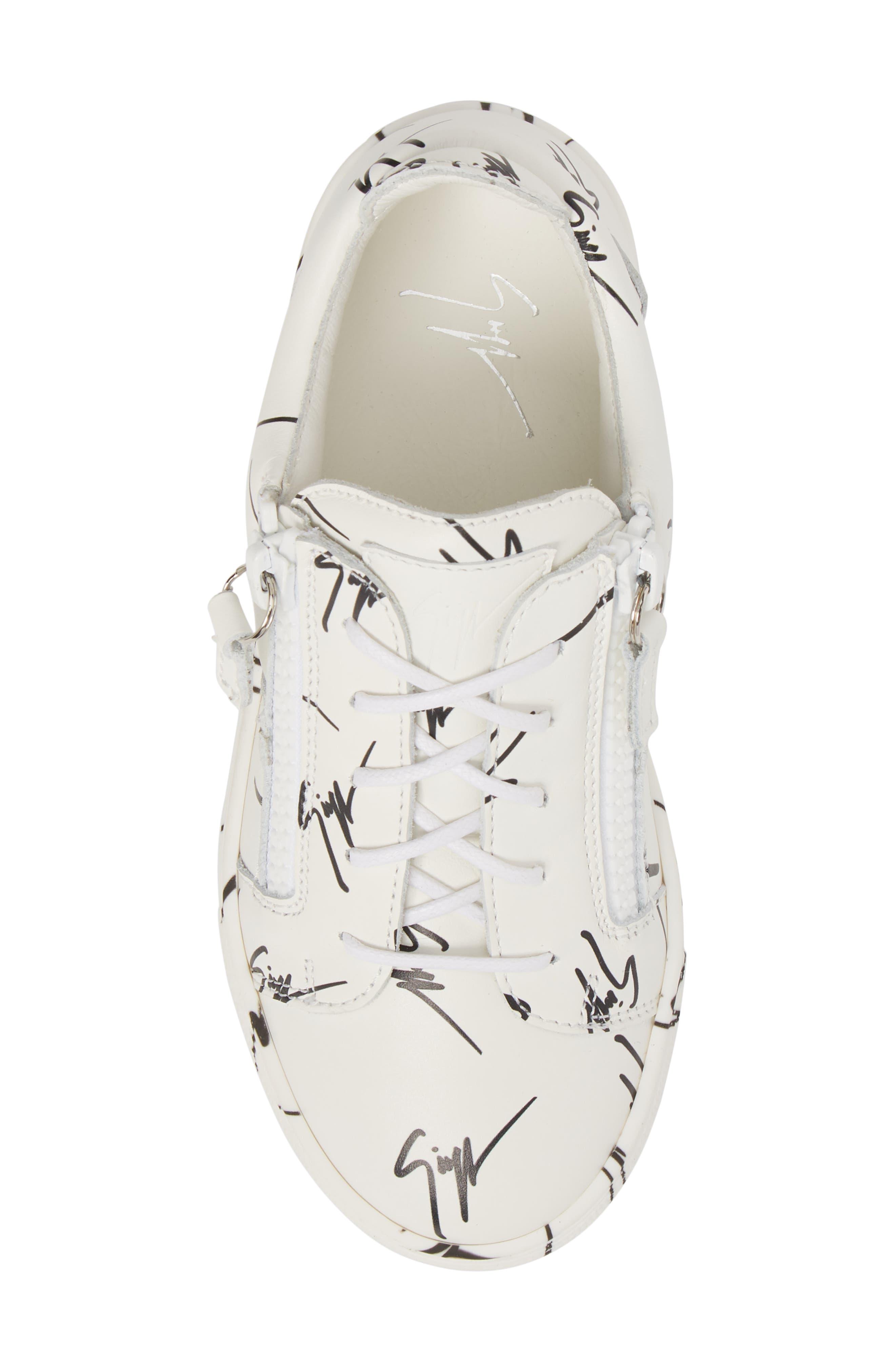 The Signature Jr. Sneaker,                             Alternate thumbnail 5, color,                             100