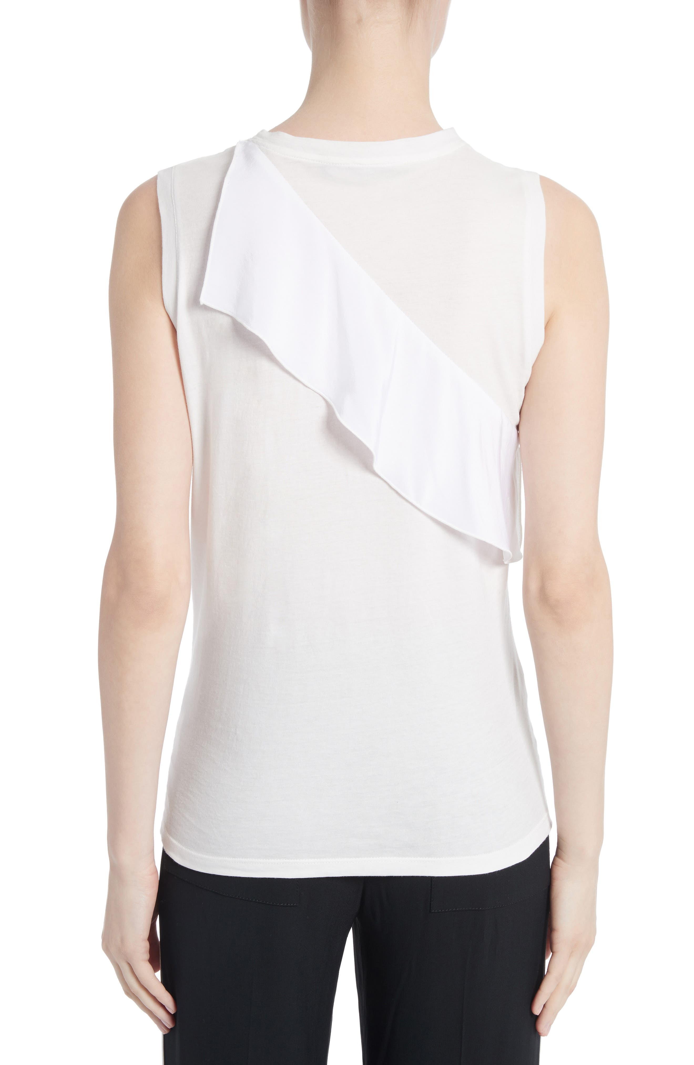 Ruffle Tank Top,                             Alternate thumbnail 2, color,                             104