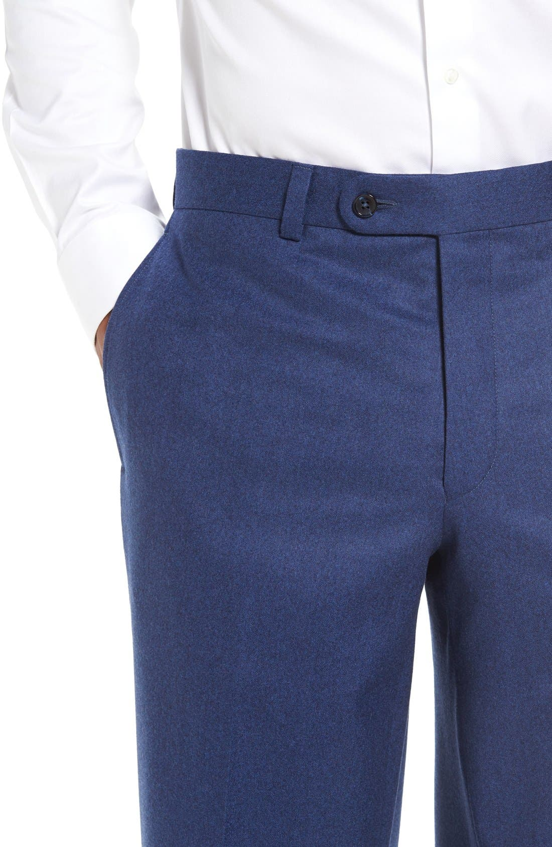 'Ryan' Classic Fit Trousers,                             Alternate thumbnail 15, color,