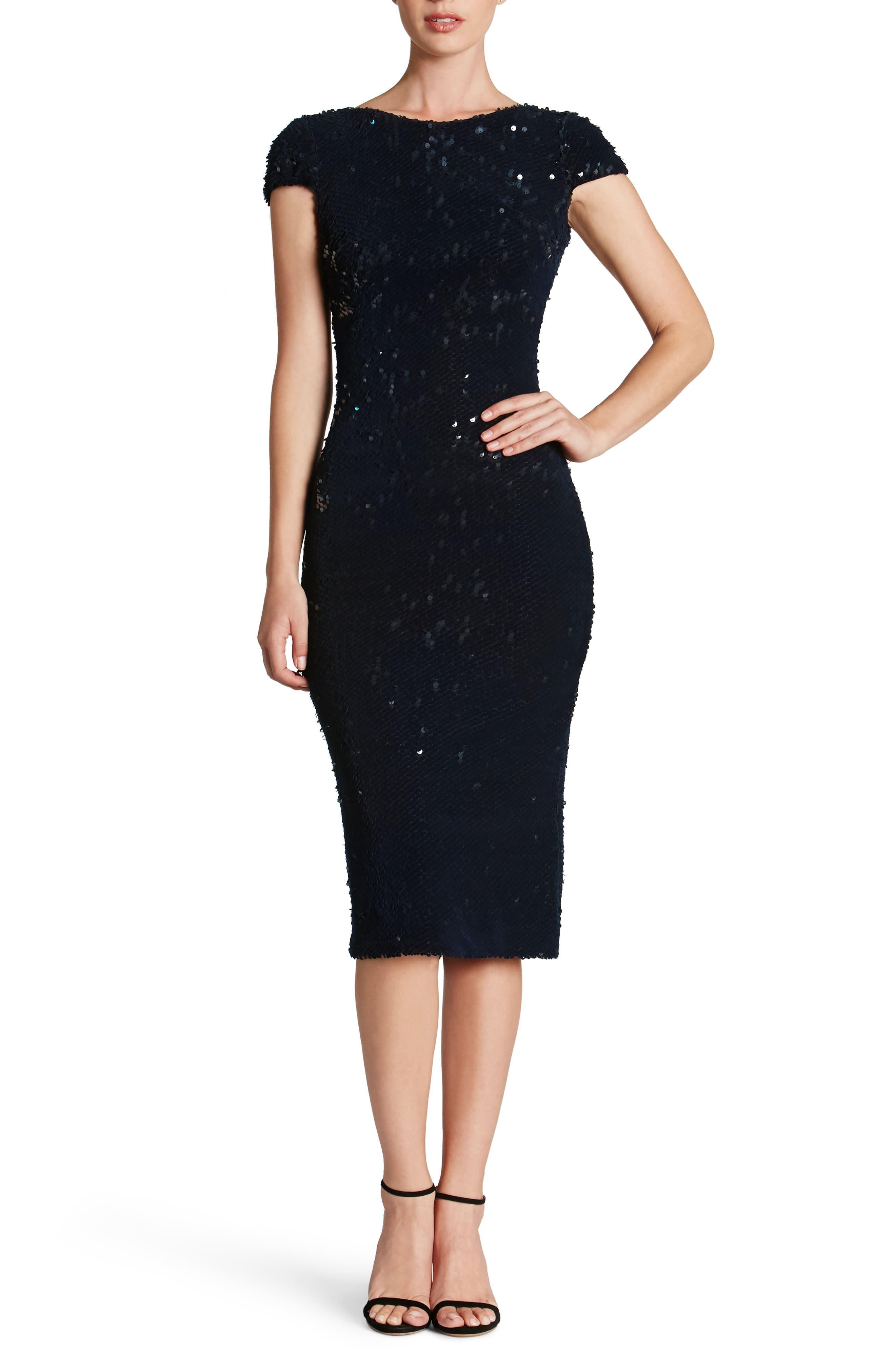 Marcella Sequin Body-Con Dress,                             Main thumbnail 2, color,
