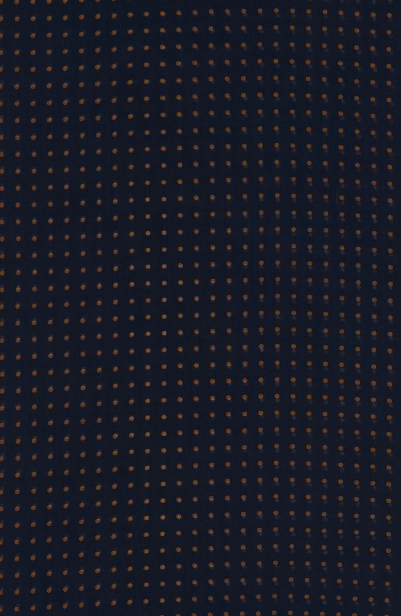 Drakes Dot Wool & Silk Scarf,                             Alternate thumbnail 3, color,                             411