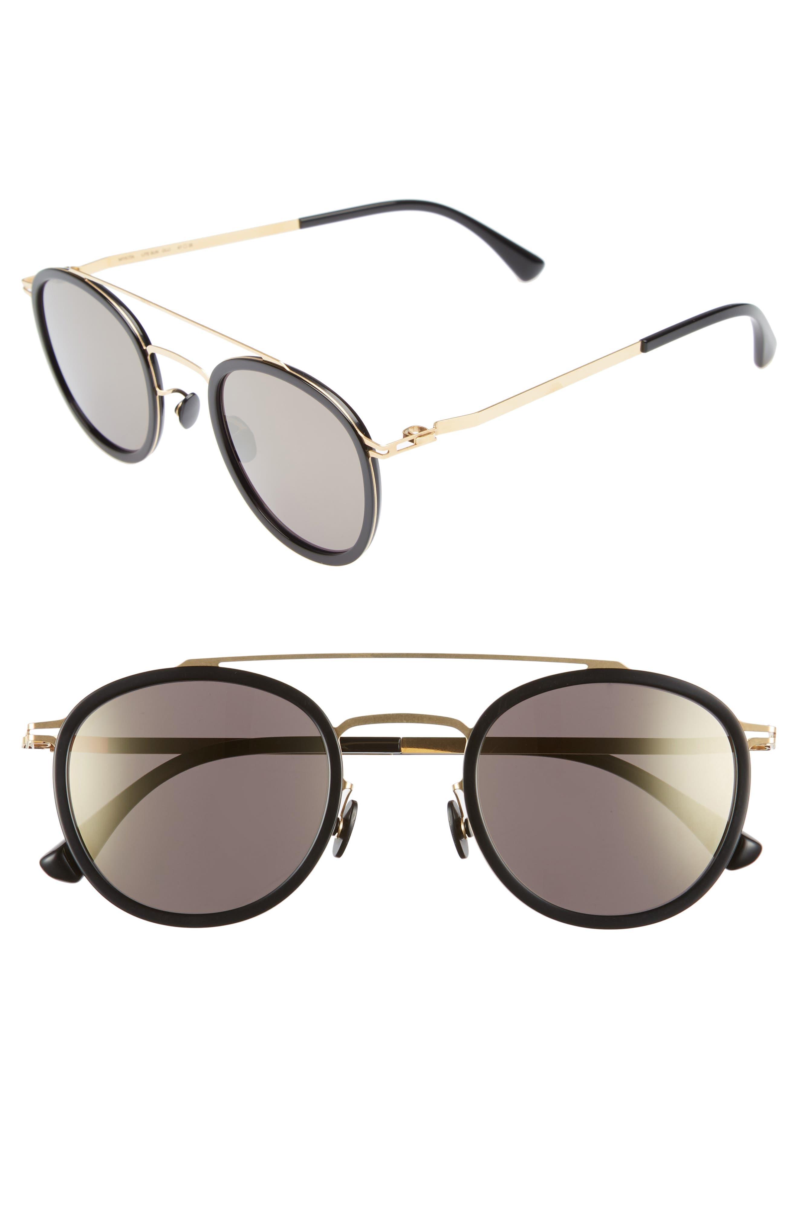 Olli 47mm Aviator Sunglasses,                             Main thumbnail 2, color,