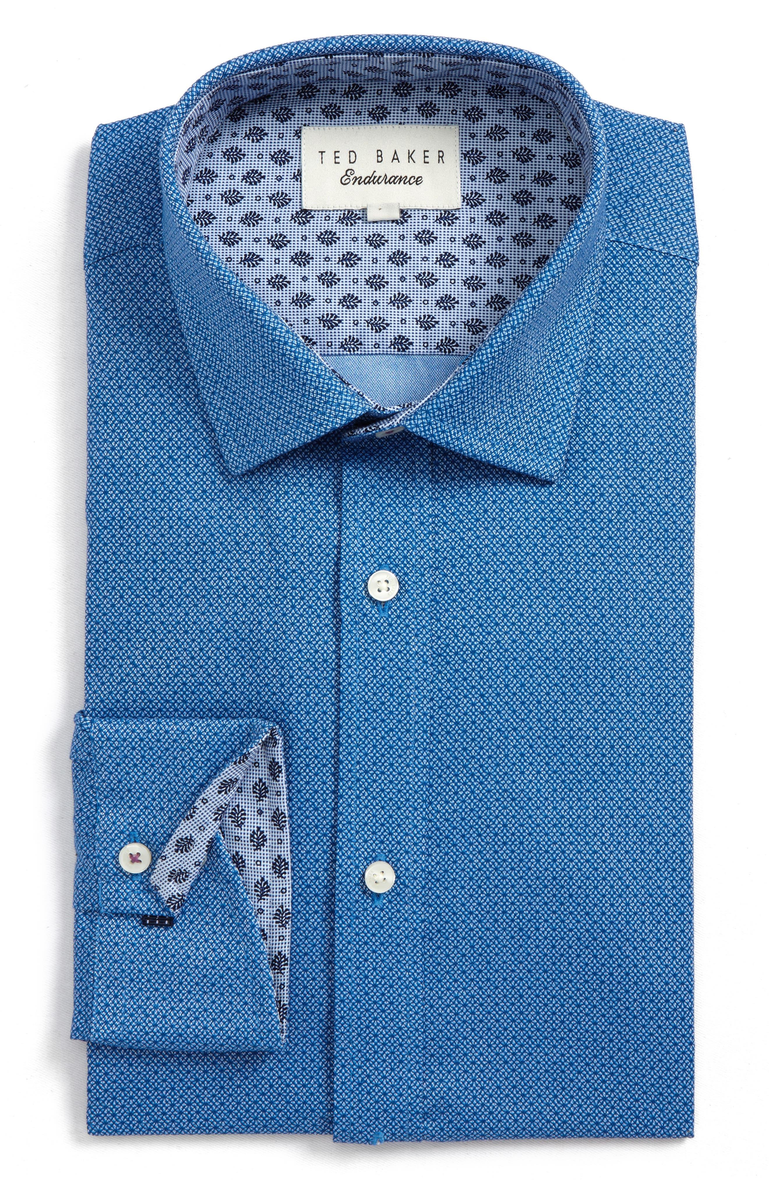 Endurance Murphy Trim Fit Dress Shirt,                         Main,                         color, 410