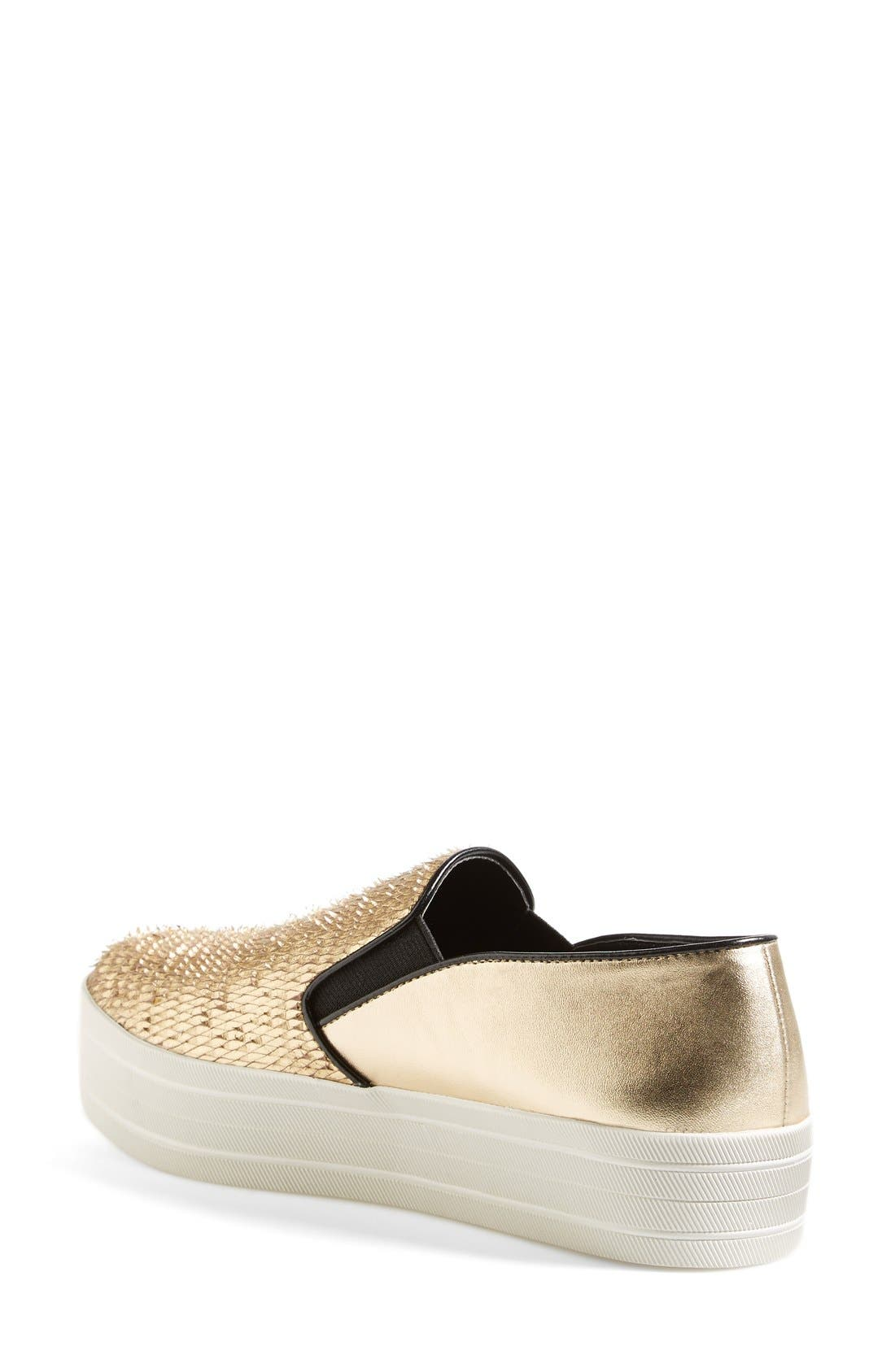 'Buhba' Slip-On Sneaker,                             Alternate thumbnail 9, color,