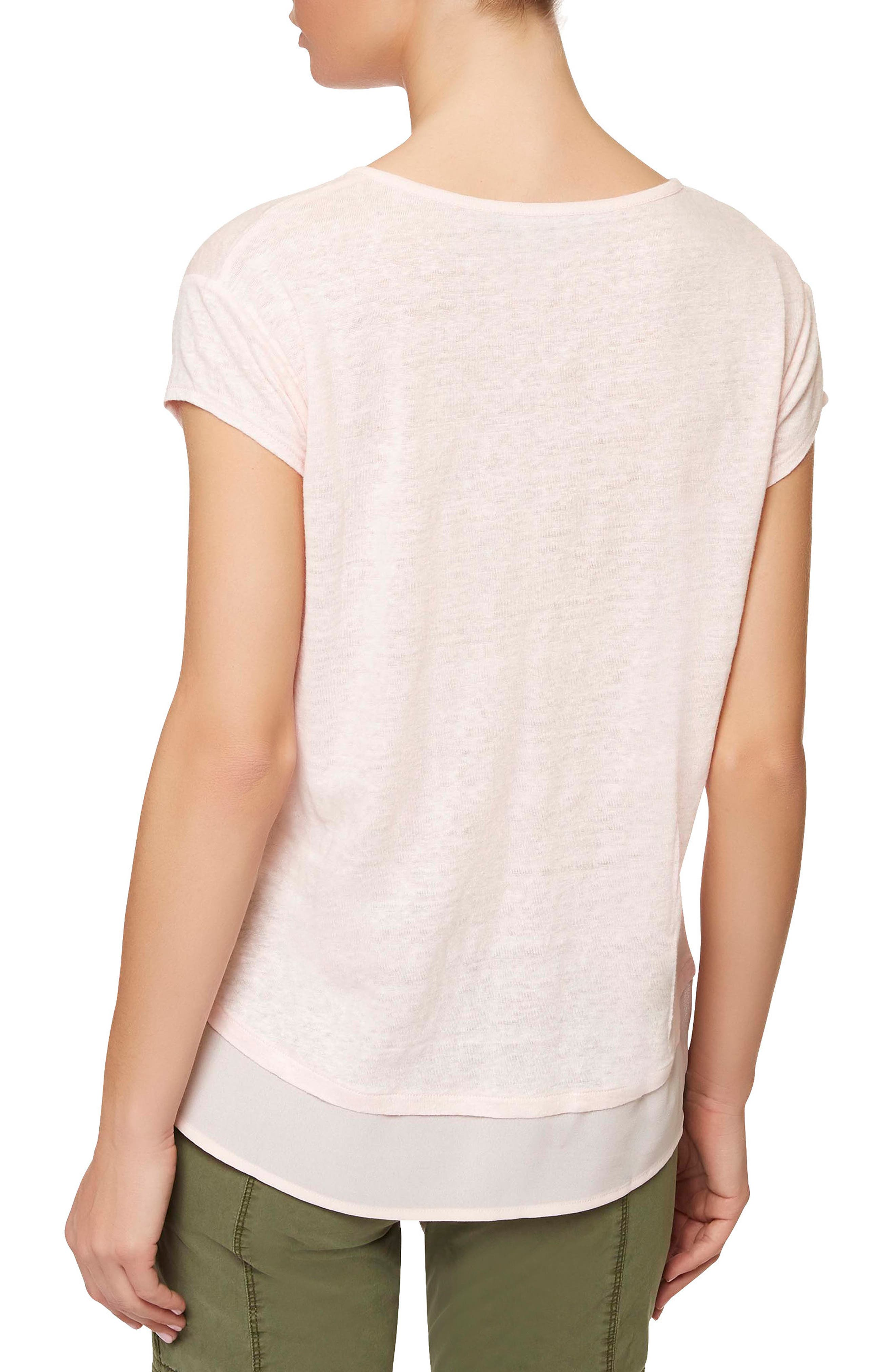 City Mix Layered Look Tee,                             Alternate thumbnail 43, color,