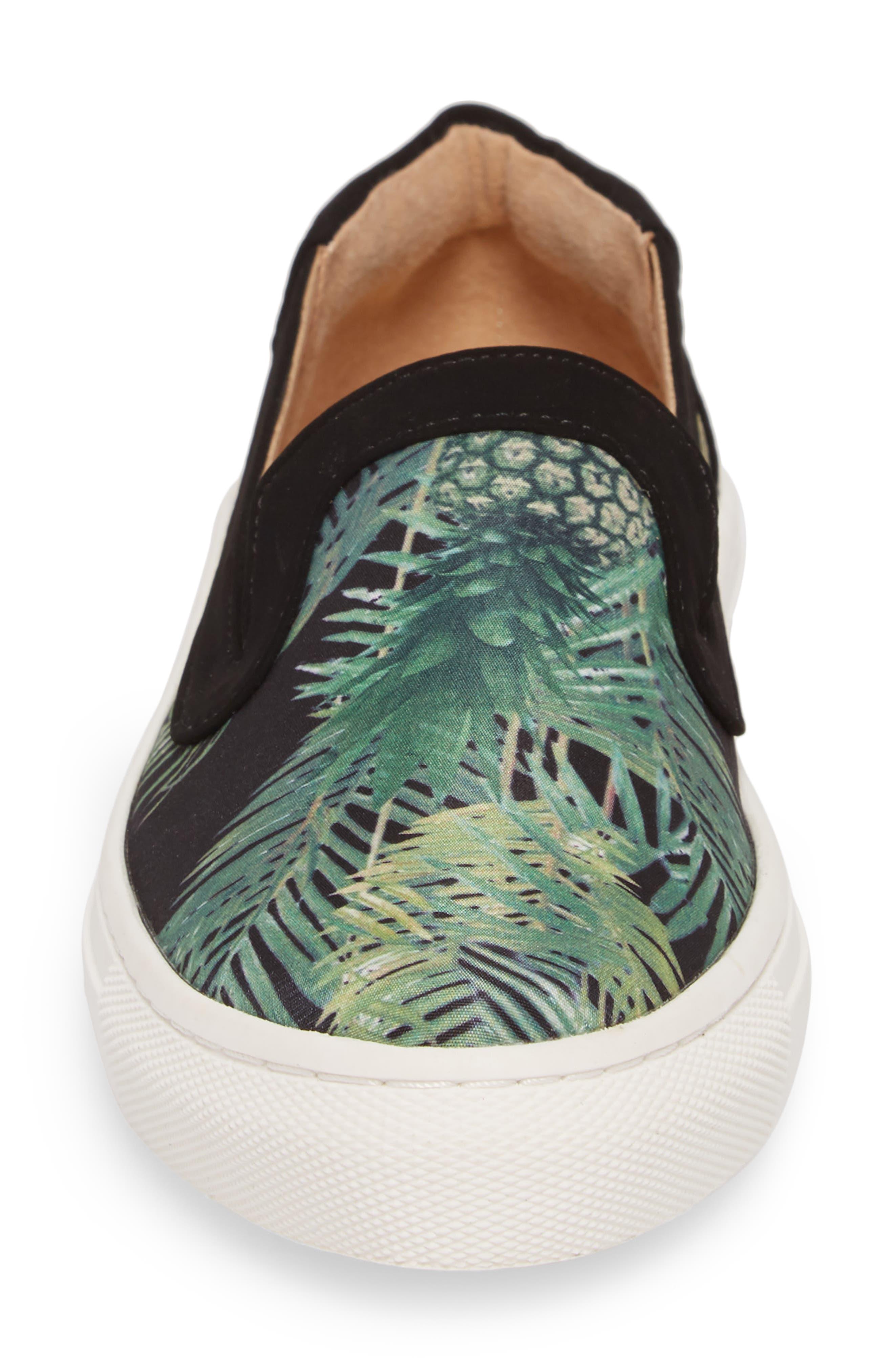 Lineth Sneaker,                             Alternate thumbnail 4, color,                             BLACK / MULTI