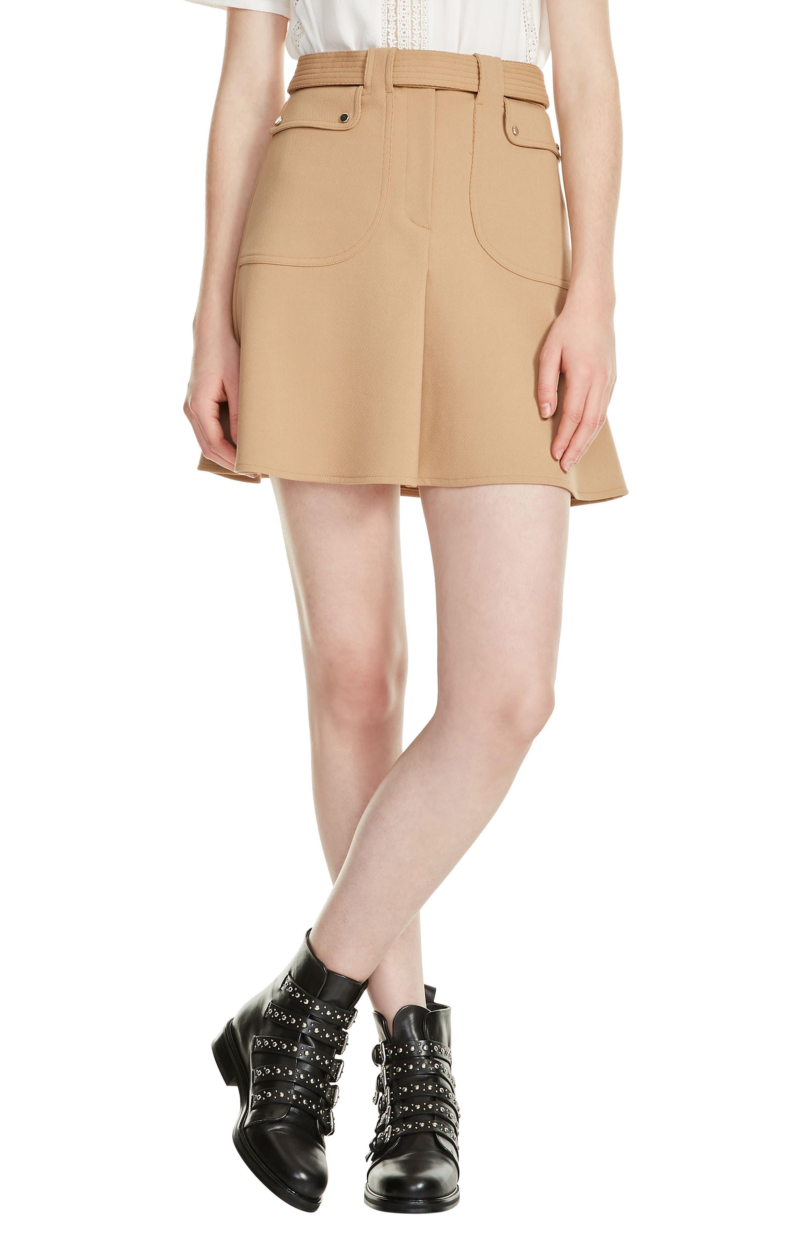 Jelsi Miniskirt,                             Main thumbnail 1, color,                             250