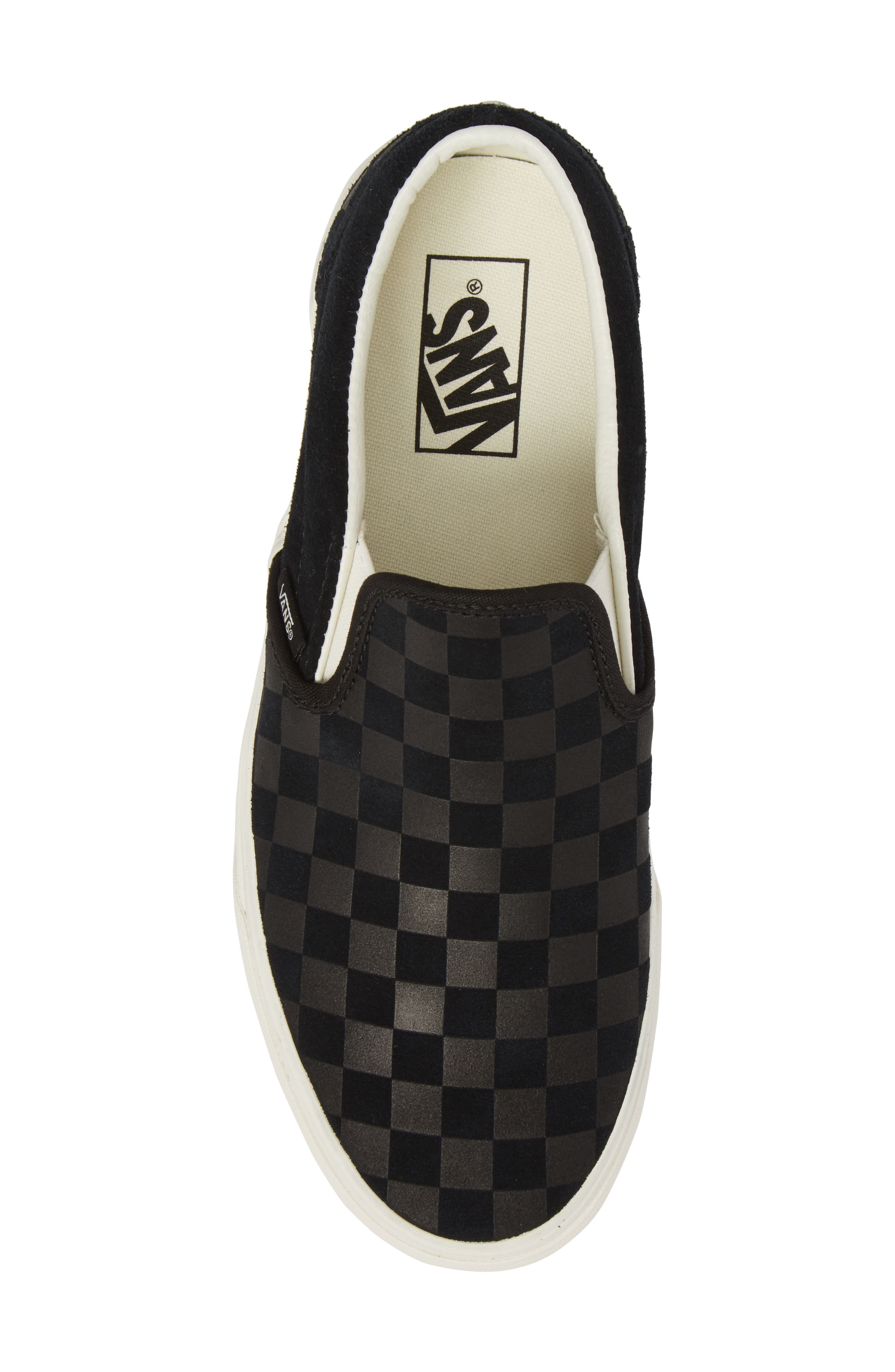 Classic Slip-On Sneaker,                             Alternate thumbnail 5, color,                             001