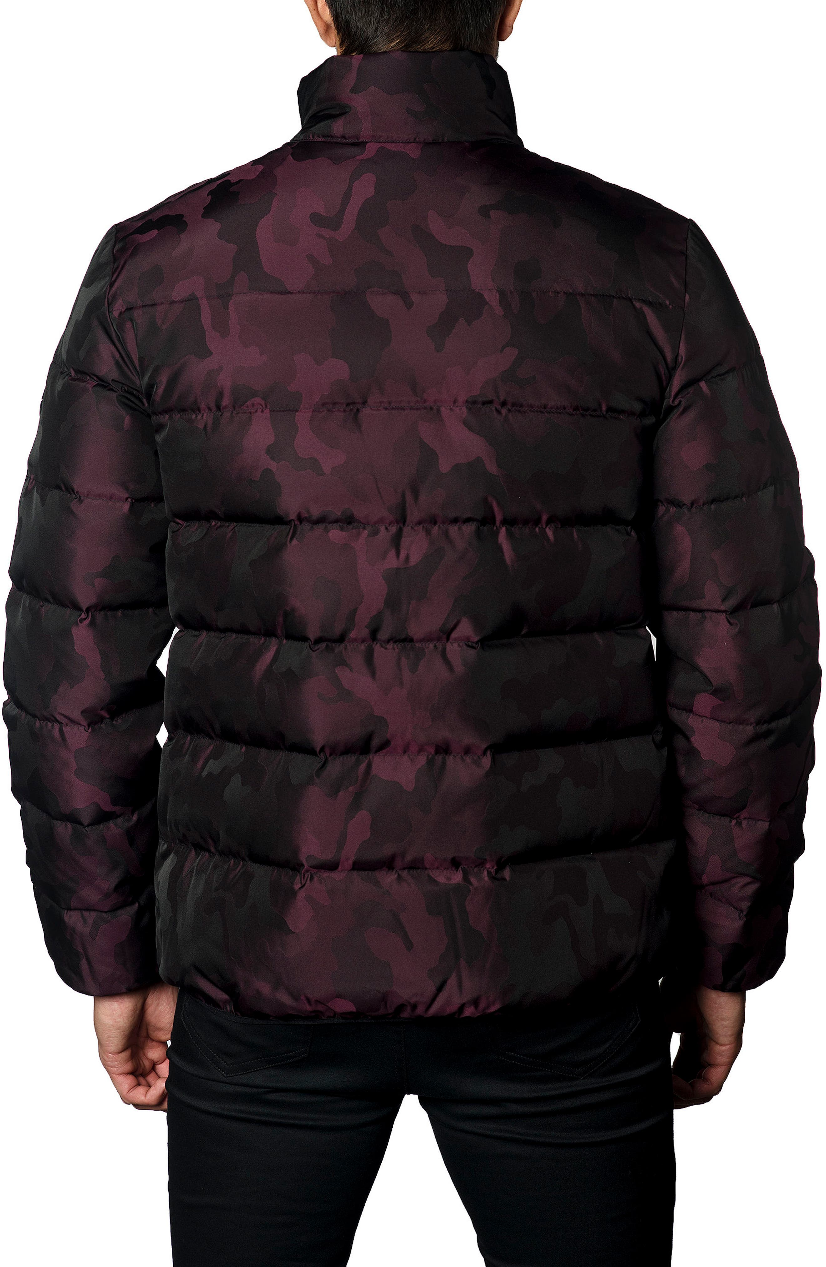 Down Puffer Jacket,                             Alternate thumbnail 8, color,