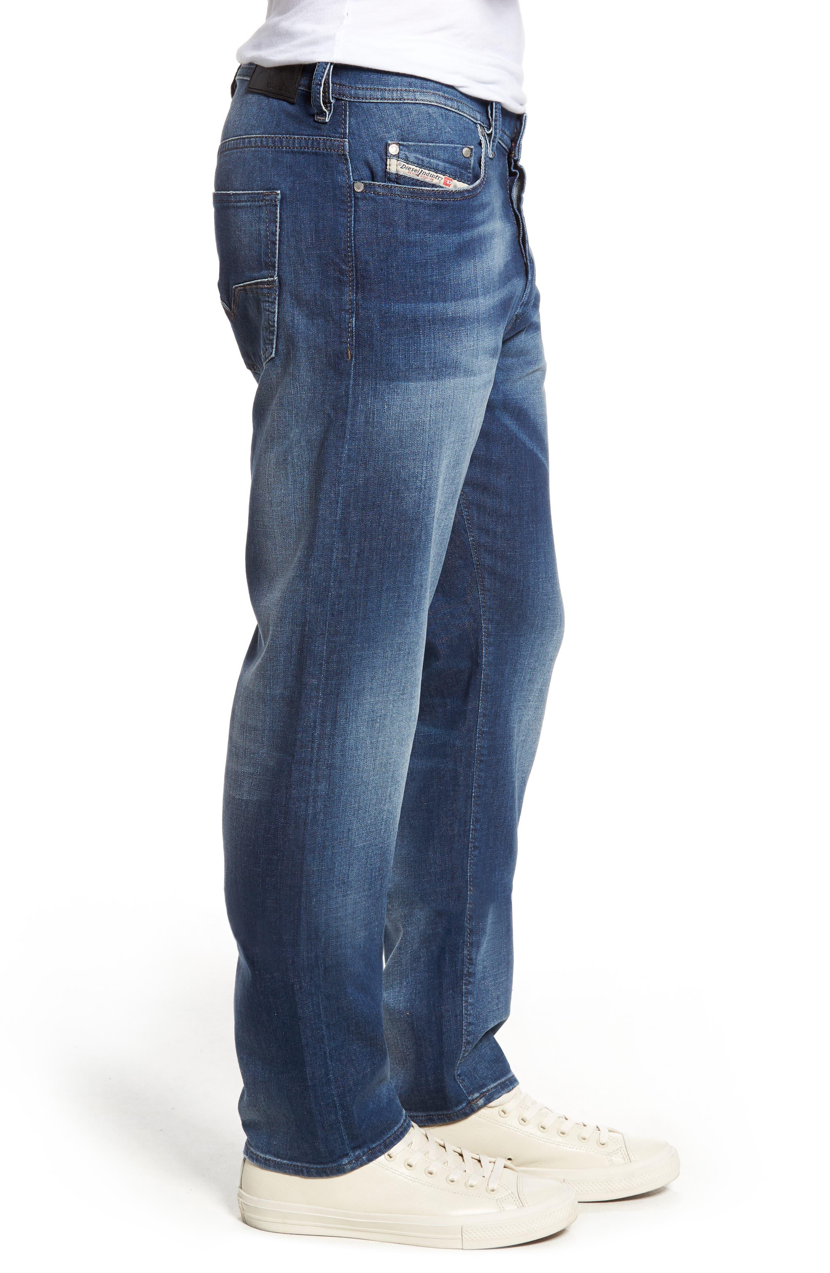 Thytan Straight Leg Jeans,                             Alternate thumbnail 3, color,                             400