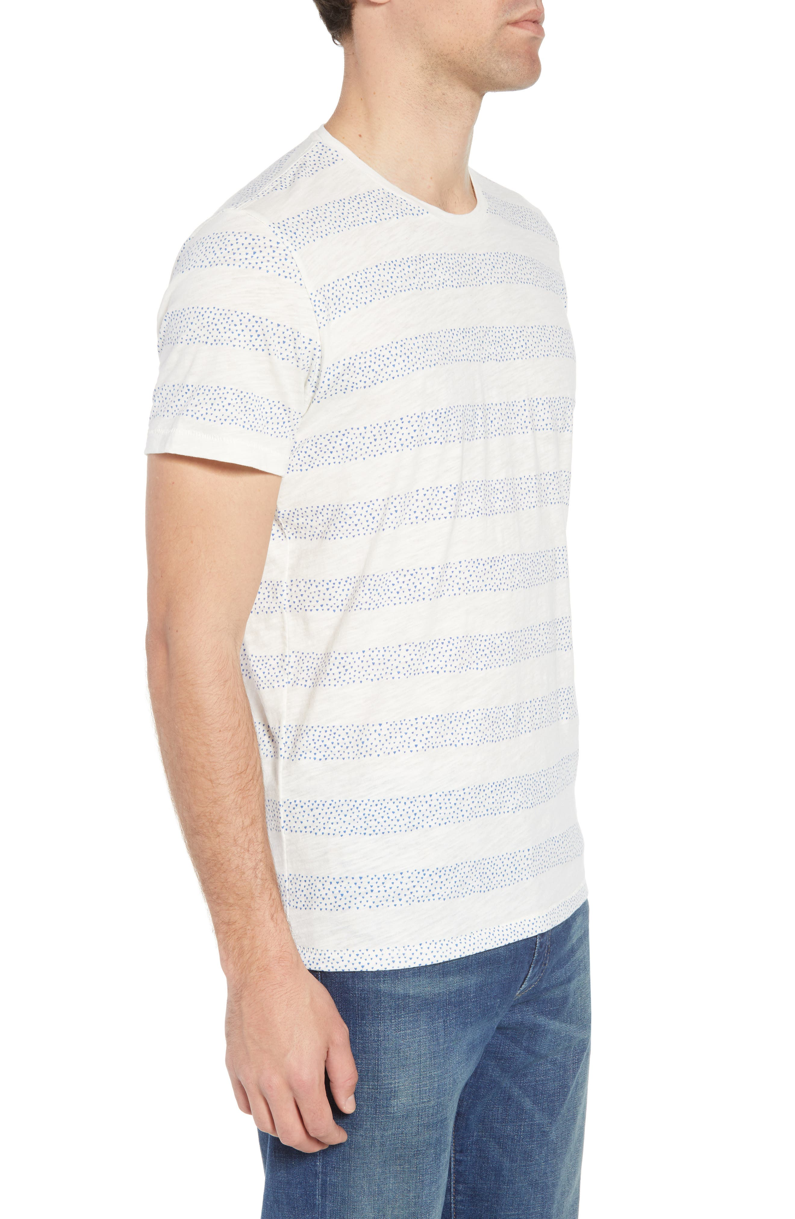 Stripe Slub T-Shirt,                             Alternate thumbnail 3, color,
