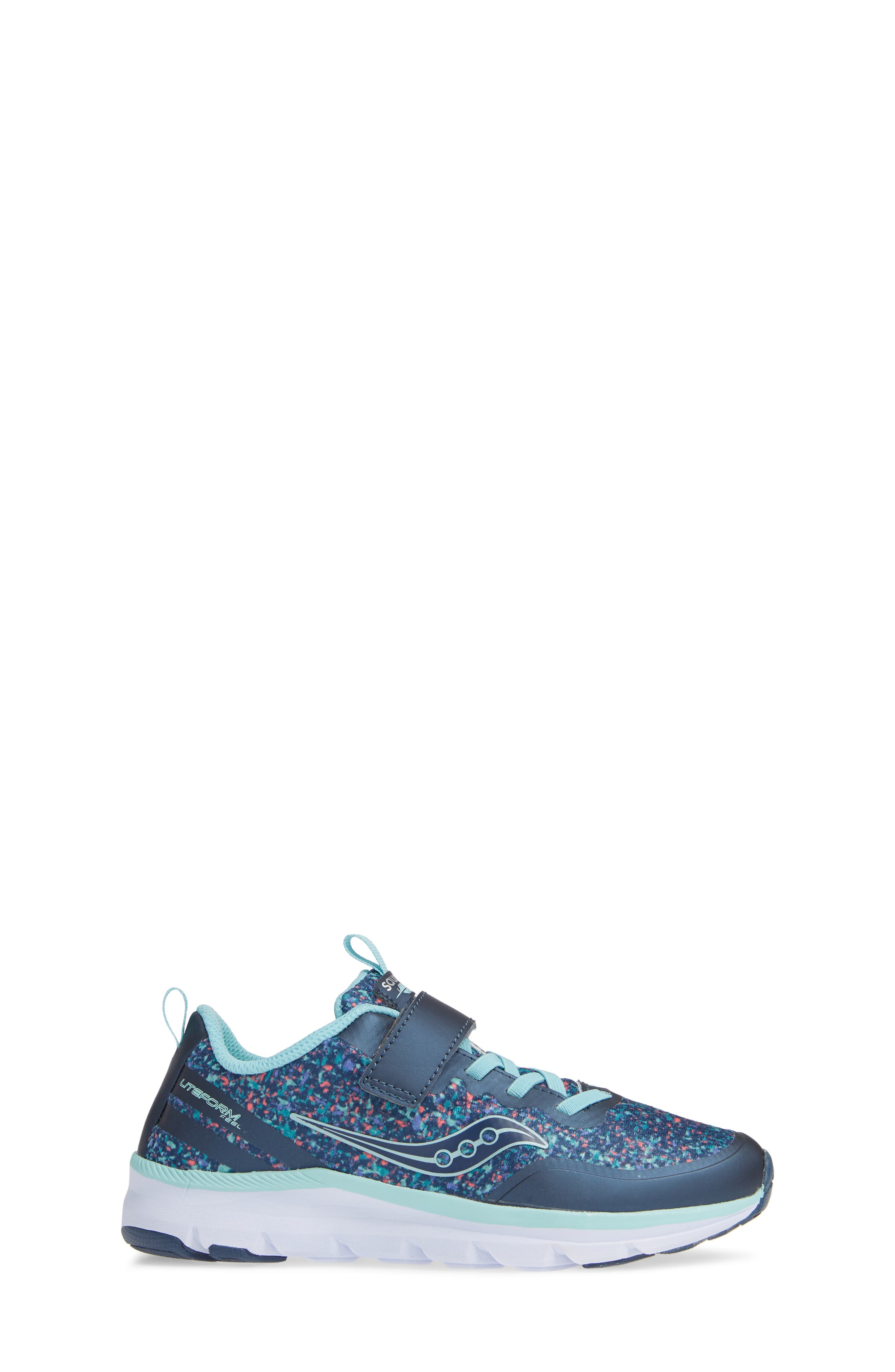 SAUCONY,                             Liteform Feel Sneaker,                             Alternate thumbnail 3, color,                             410