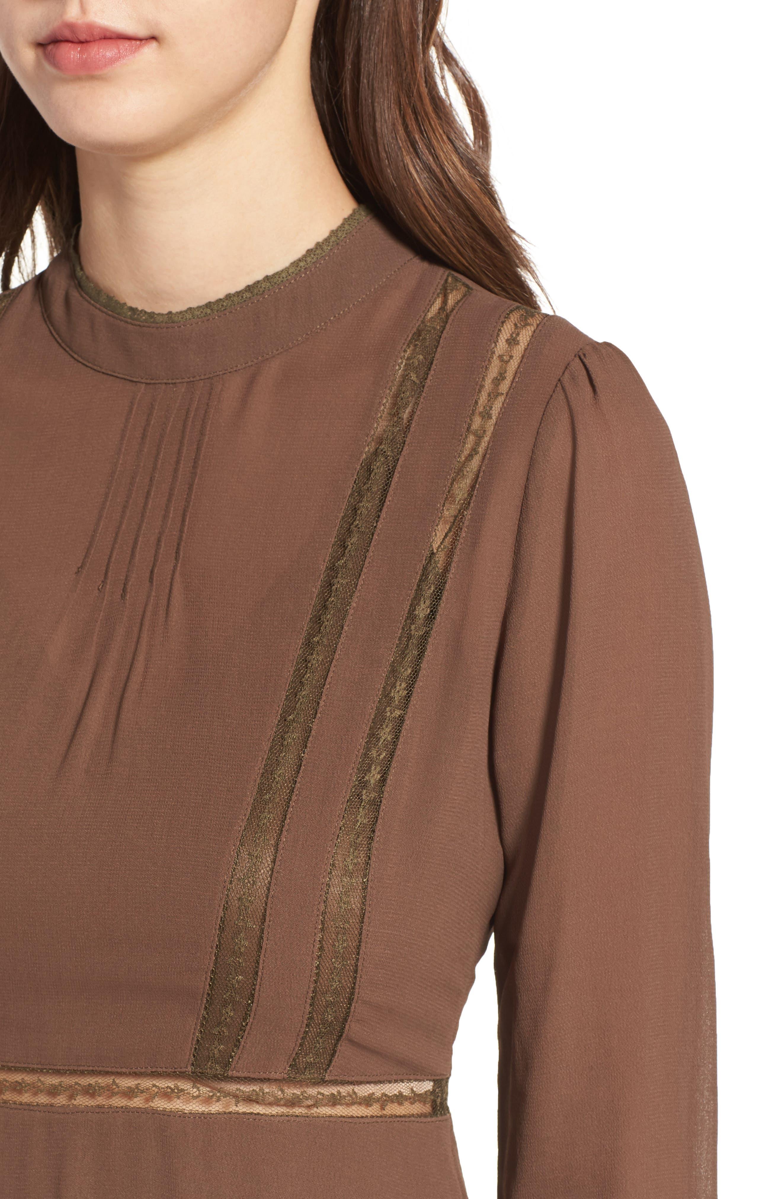 Kirsten A-Line Dress,                             Alternate thumbnail 14, color,