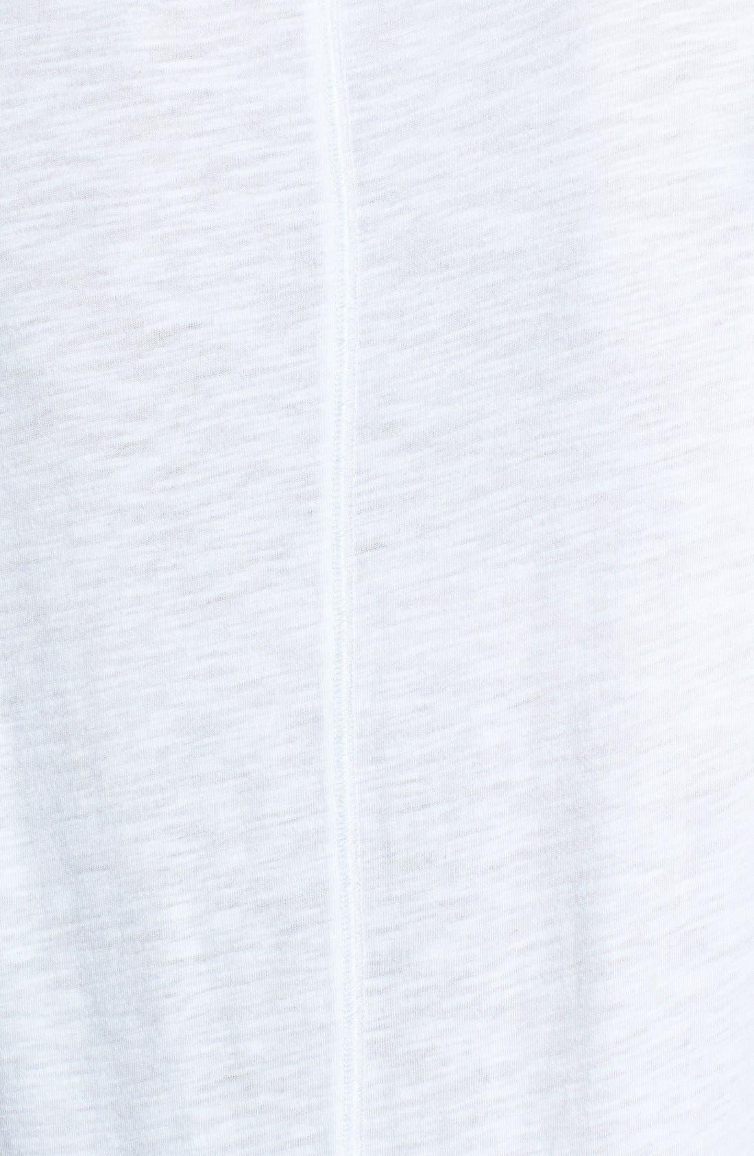 Short Sleeve Cotton & Modal Tee,                             Alternate thumbnail 40, color,