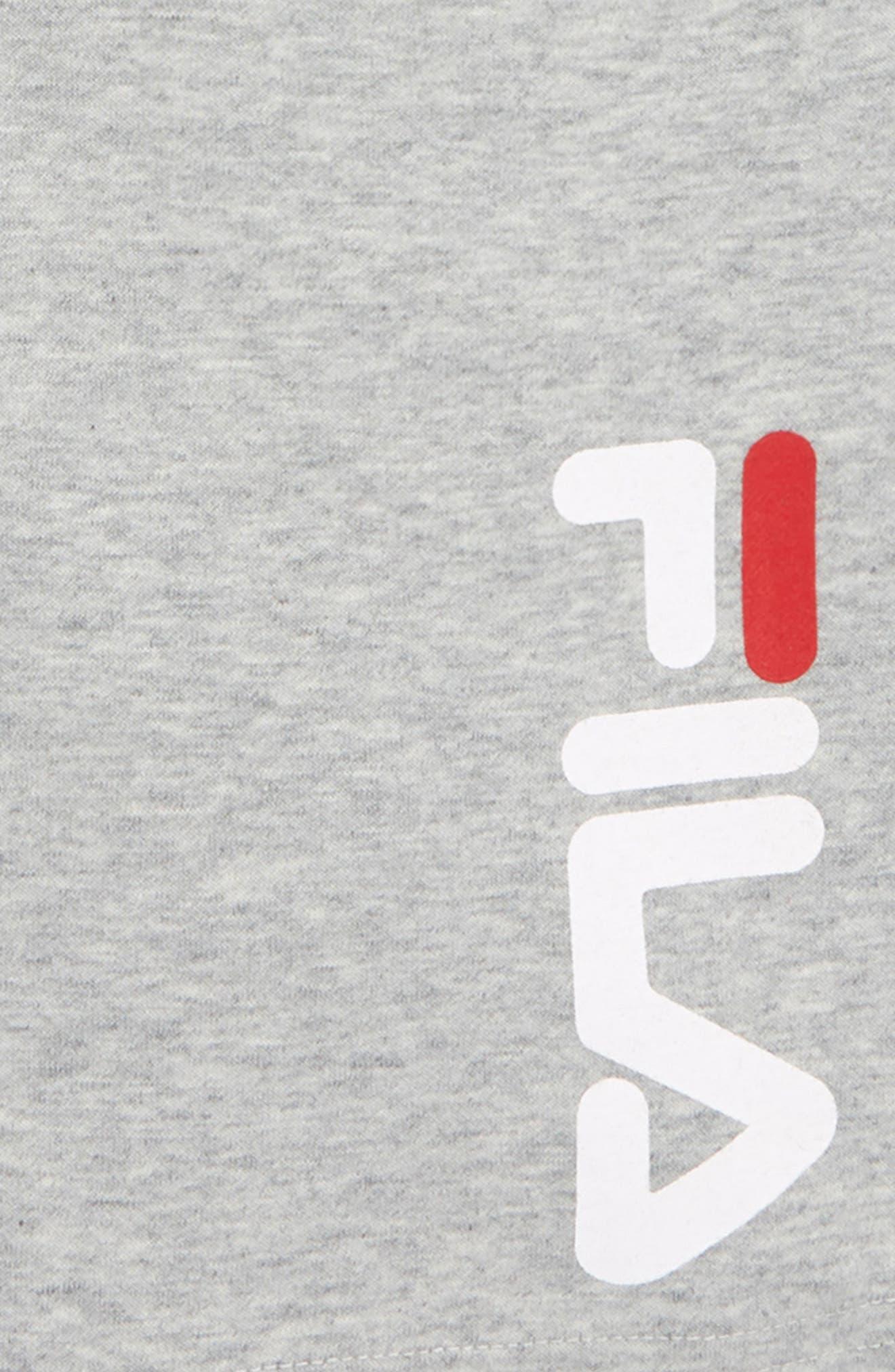 FILA,                             Heritage Logo Sweat Shorts,                             Alternate thumbnail 2, color,                             050