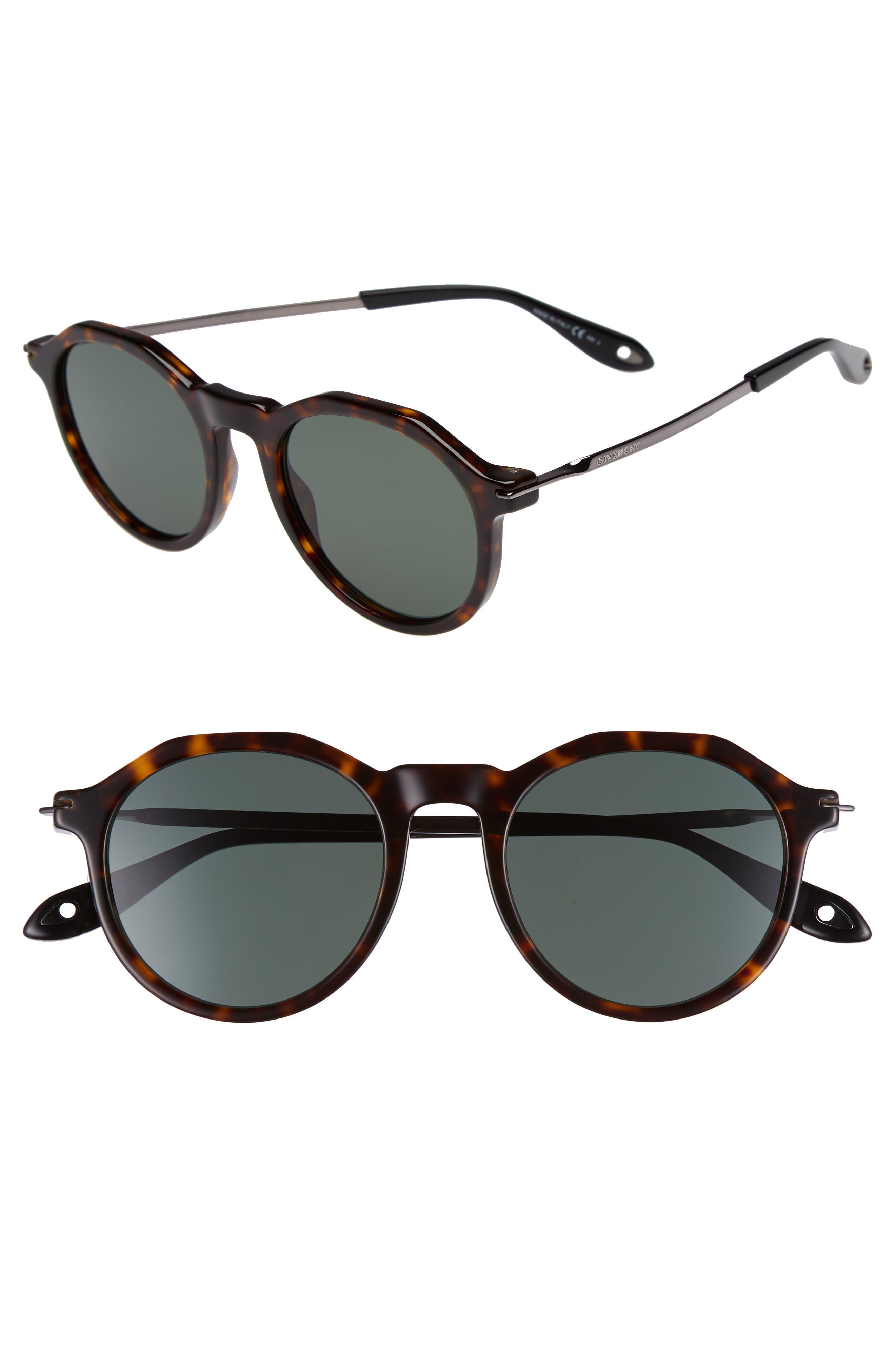 51mm Round Sunglasses,                             Main thumbnail 2, color,