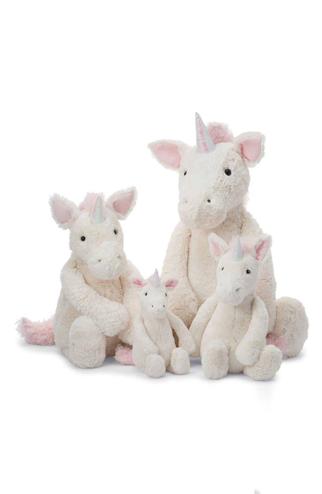 'Huge Bashful Unicorn' Stuffed Animal,                             Alternate thumbnail 3, color,                             CREAM