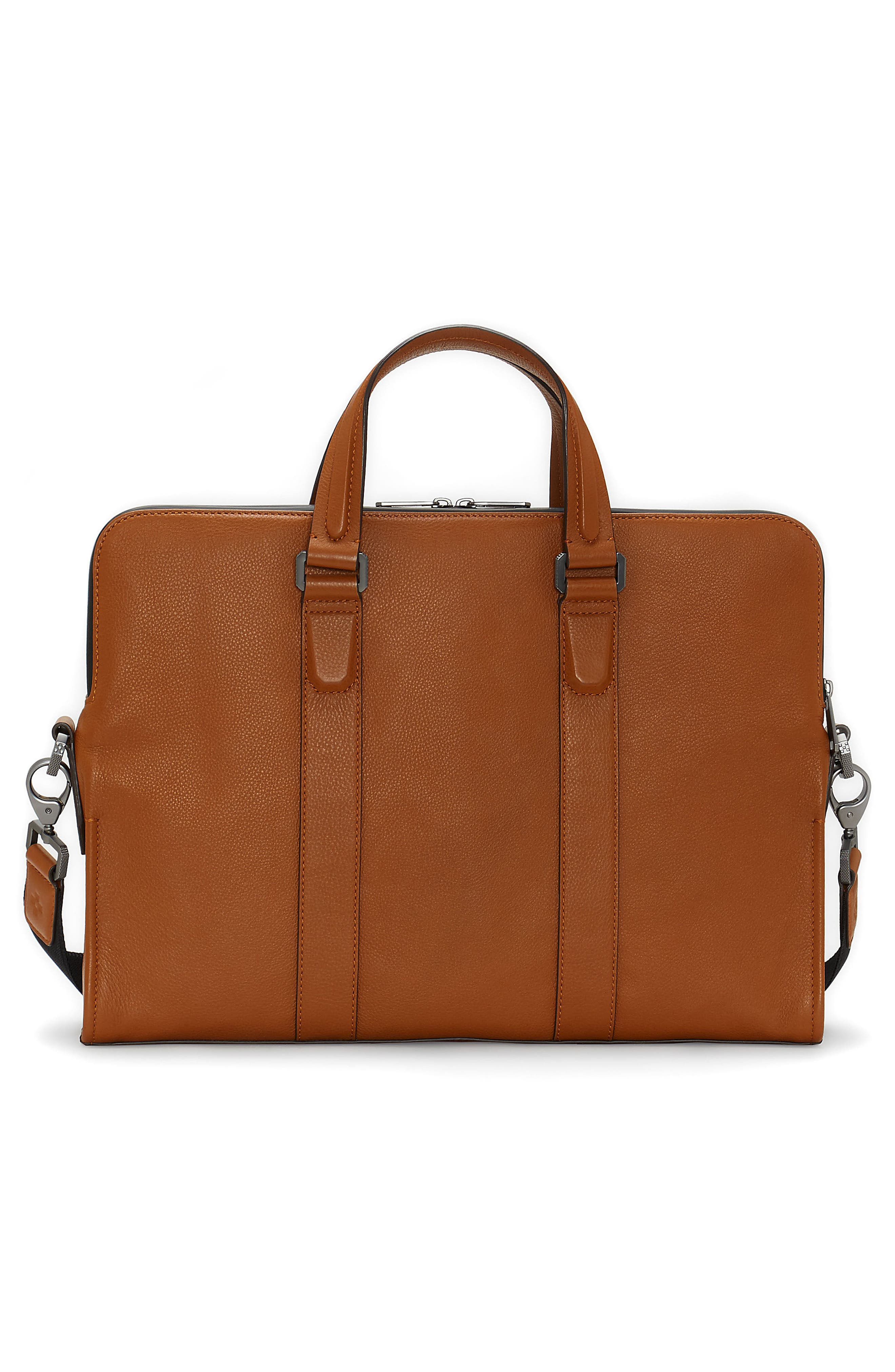 Dopia Leather Briefcase,                             Alternate thumbnail 2, color,                             201