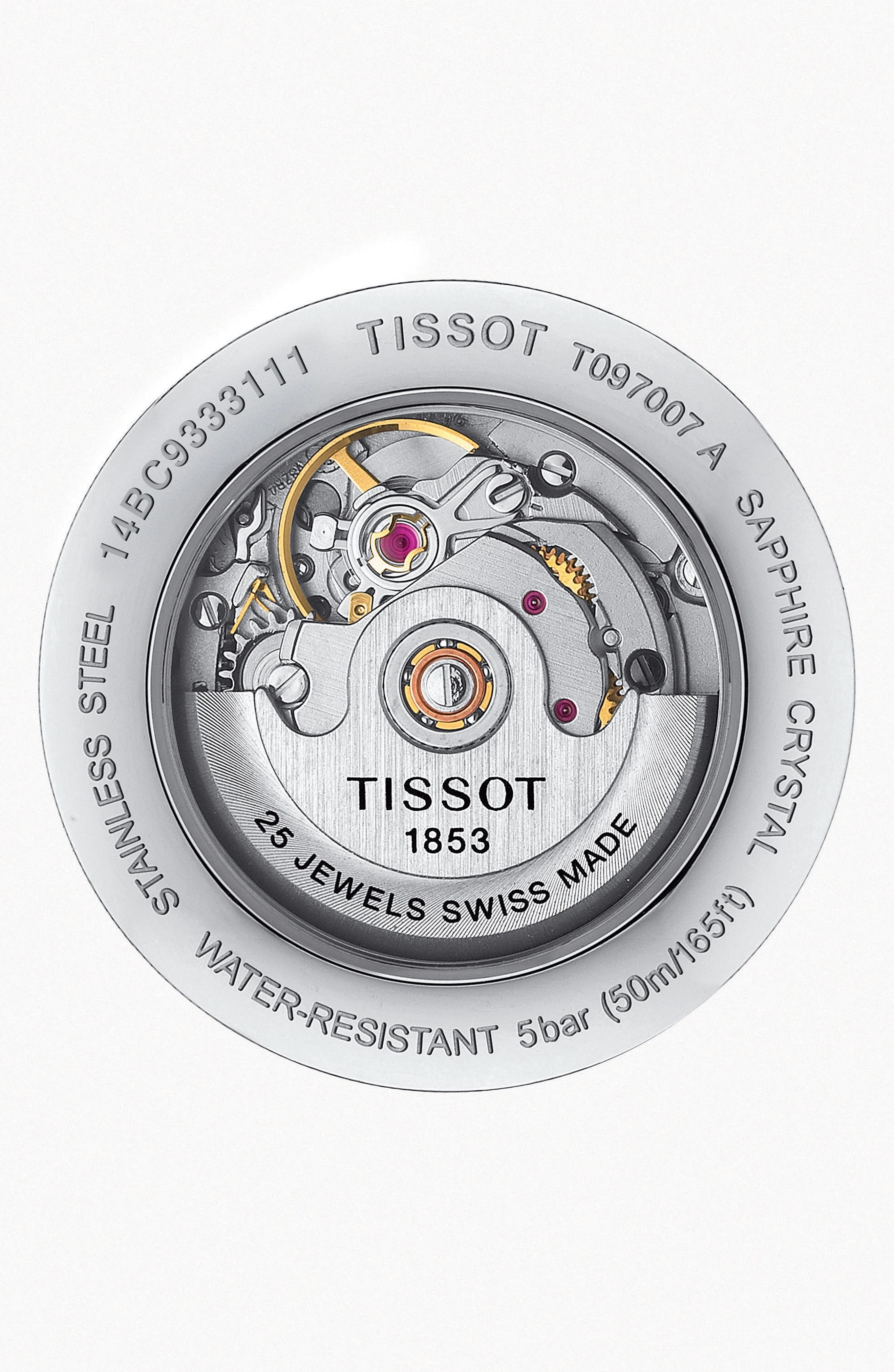 Bridgeport Automatic Bracelet Watch, 29mm,                             Alternate thumbnail 2, color,                             040