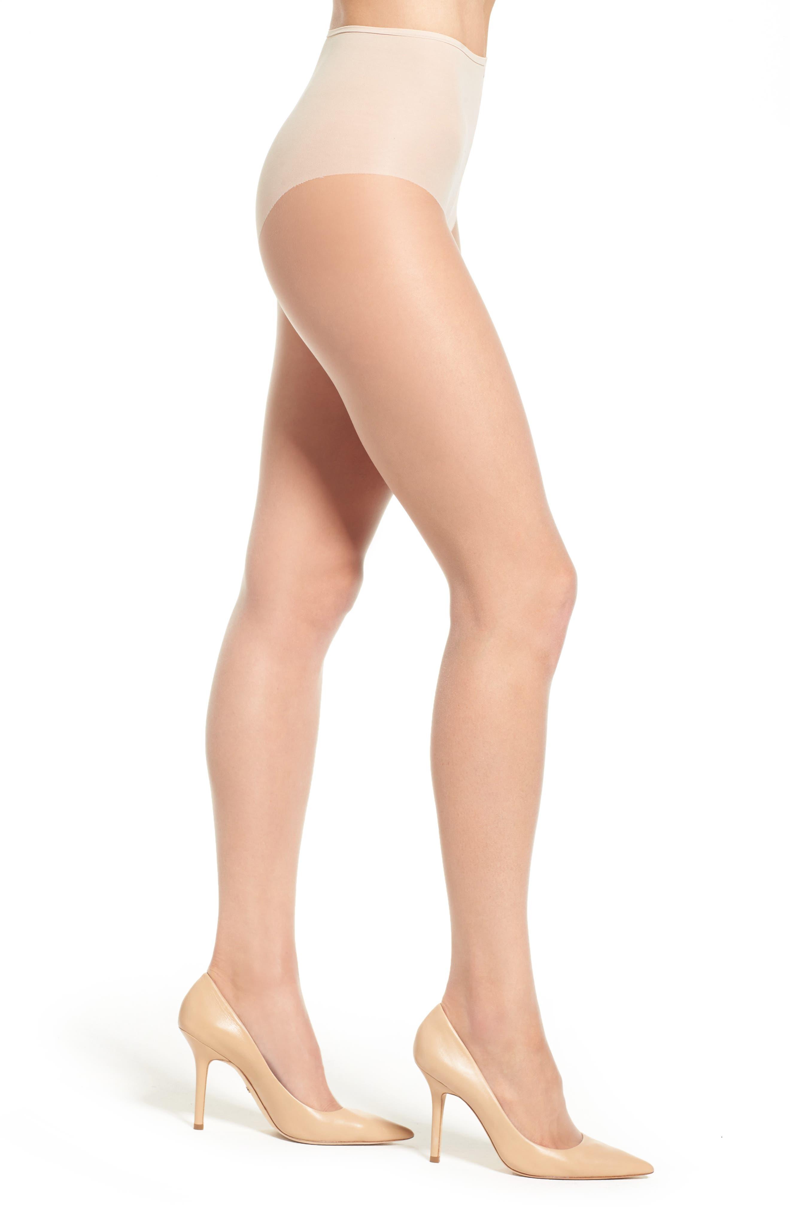 Donna Karan Beyond The Nudes Control Top Pantyhose,                             Main thumbnail 1, color,                             241