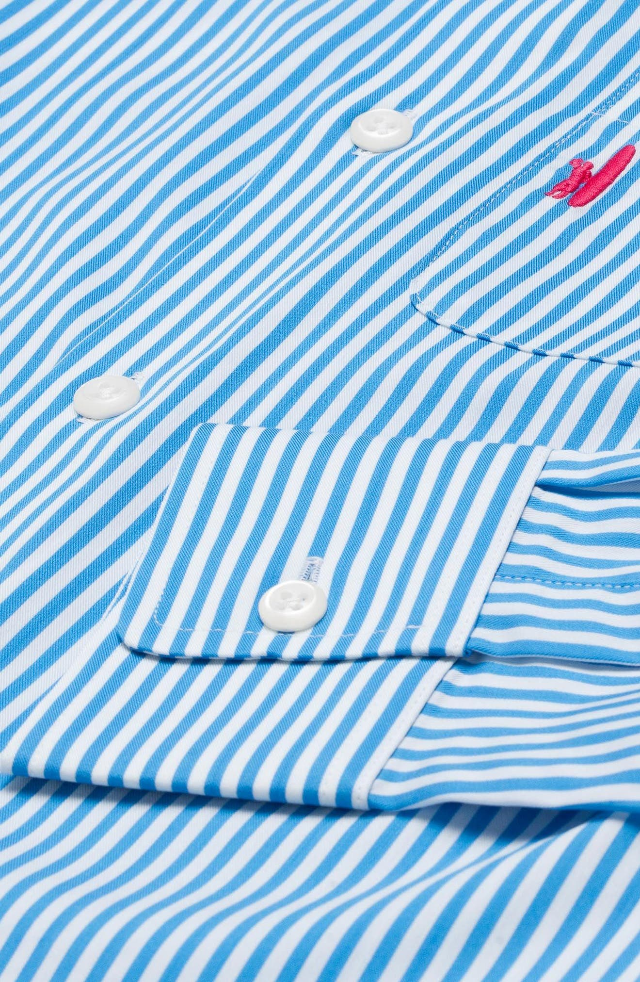 Nole Striped Dress Shirt,                             Alternate thumbnail 2, color,                             465