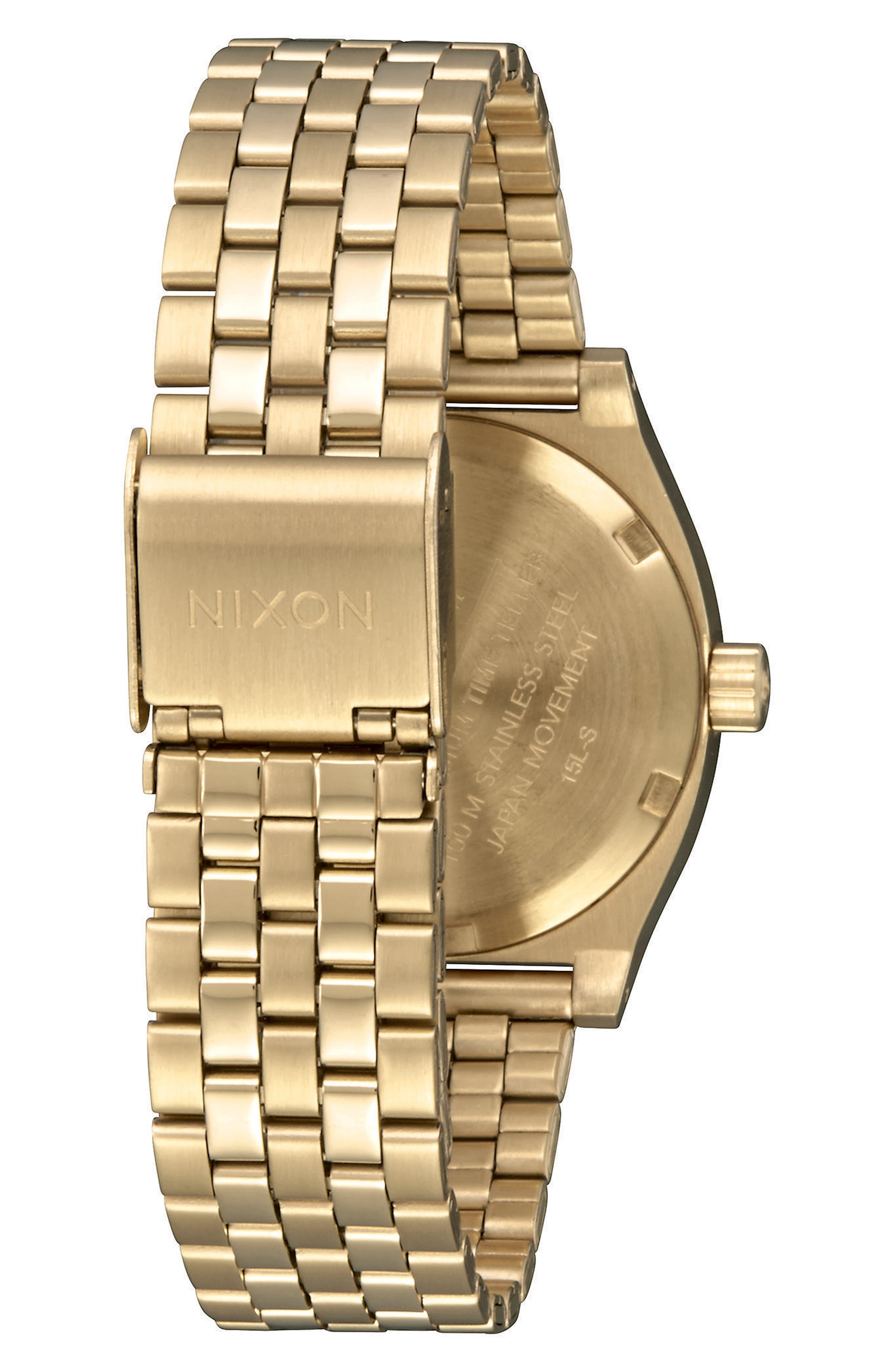 Time Teller Bracelet Watch, 31mm,                             Alternate thumbnail 2, color,                             GOLD/ COBALT/ GOLD