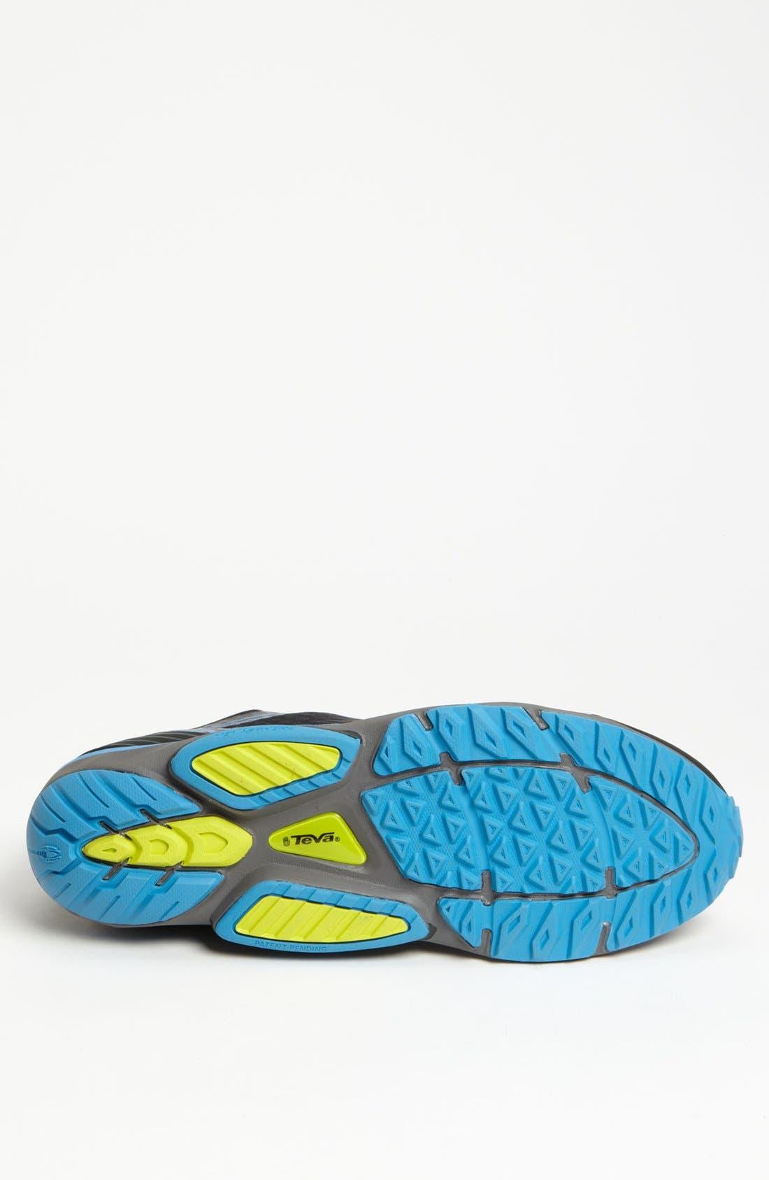 'TevaSphere Speed' Trail Running Shoe,                             Alternate thumbnail 3, color,                             001