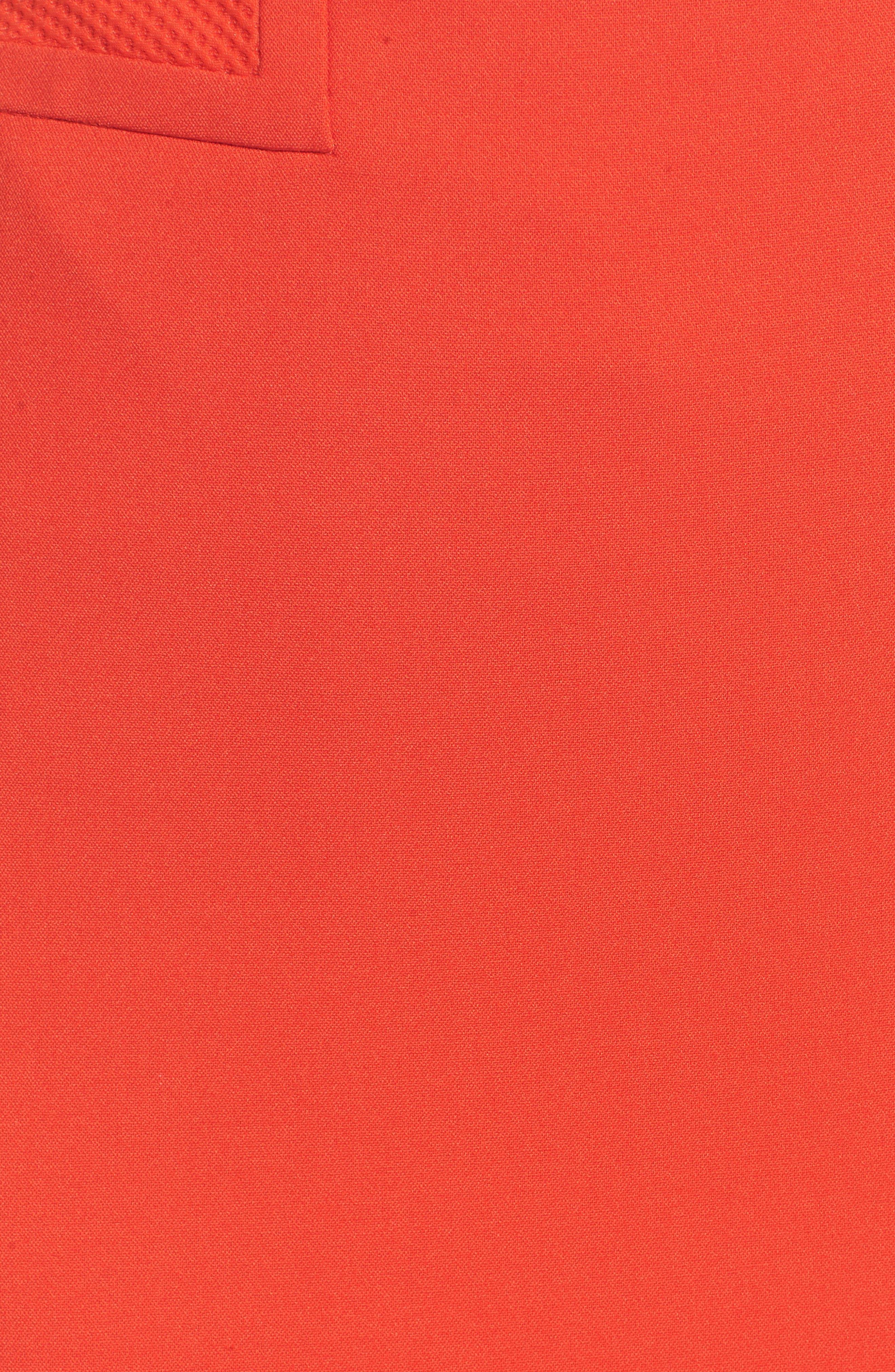 Vadama Ponte Pencil Skirt,                             Alternate thumbnail 5, color,